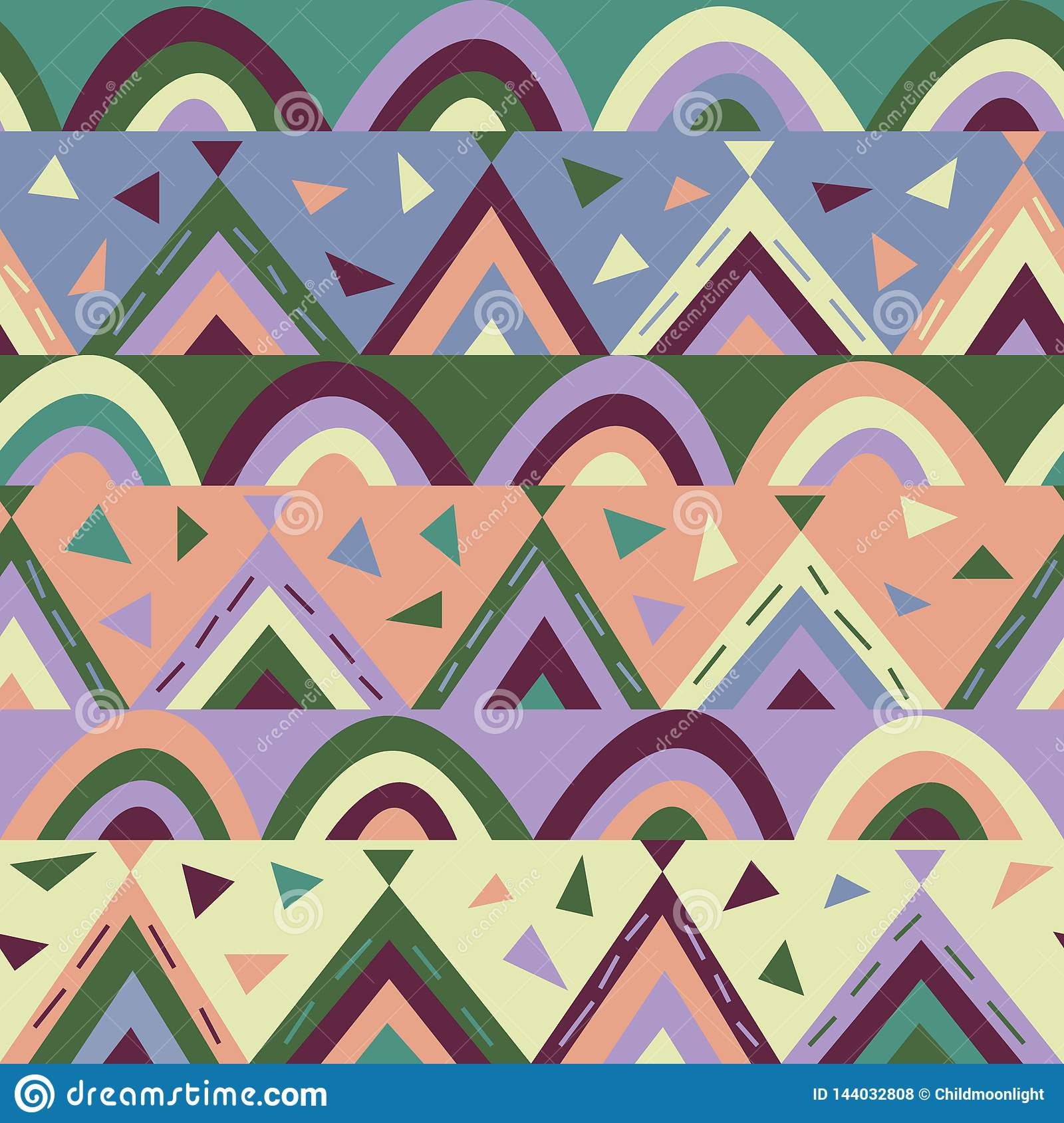 Papier-besnoeiing geometrische textuur voor jonge geitjes