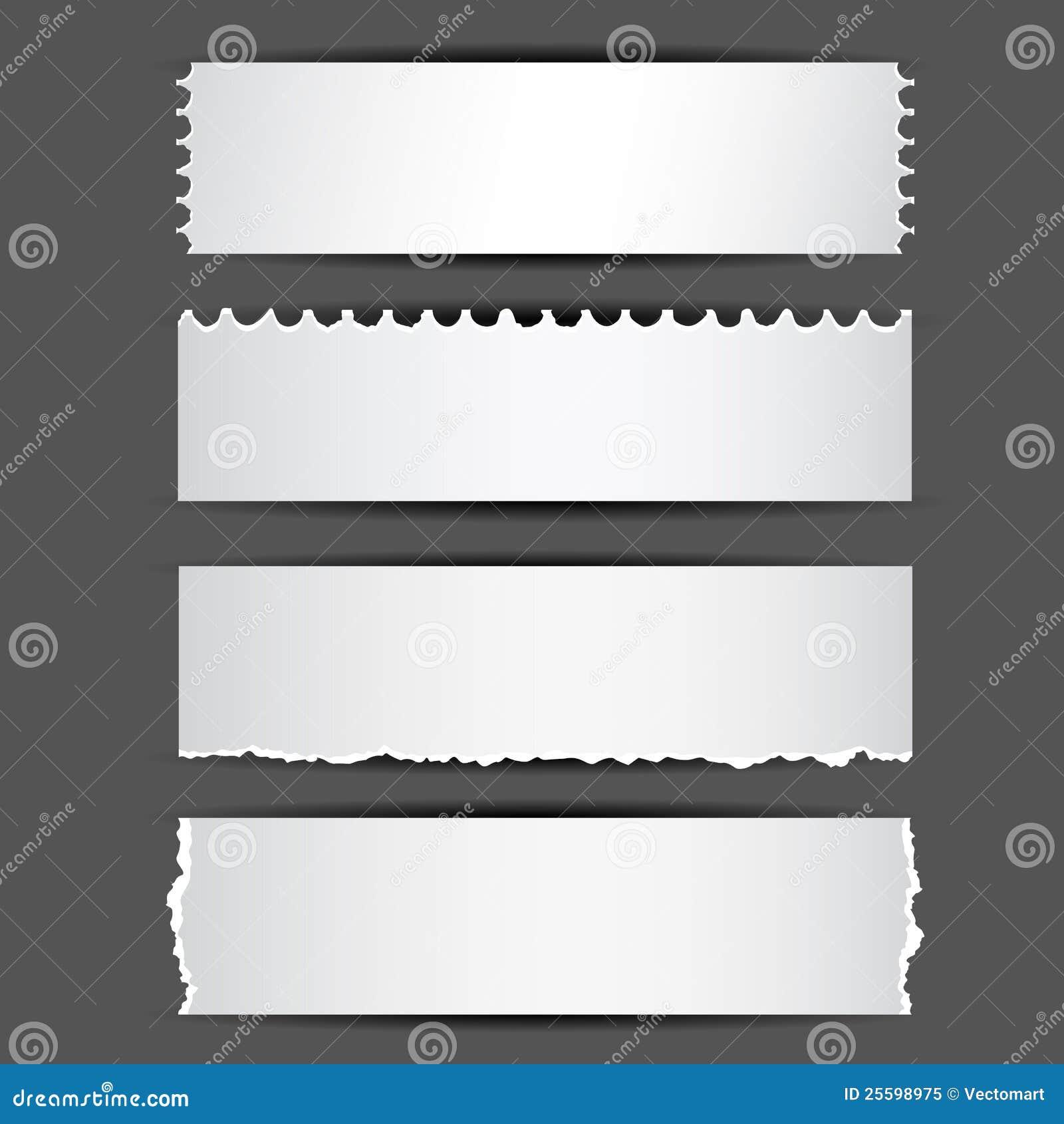 Papier déchiré