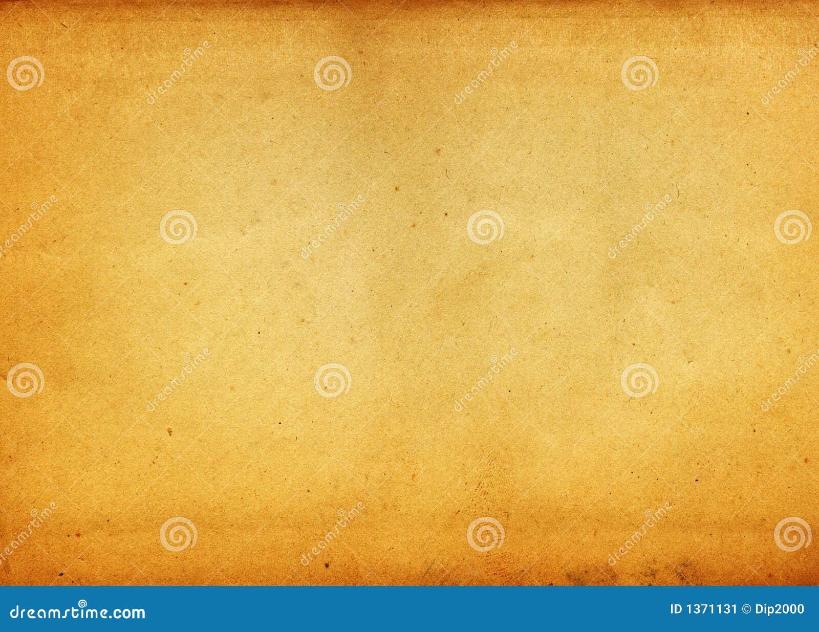 Papier de chute de cru