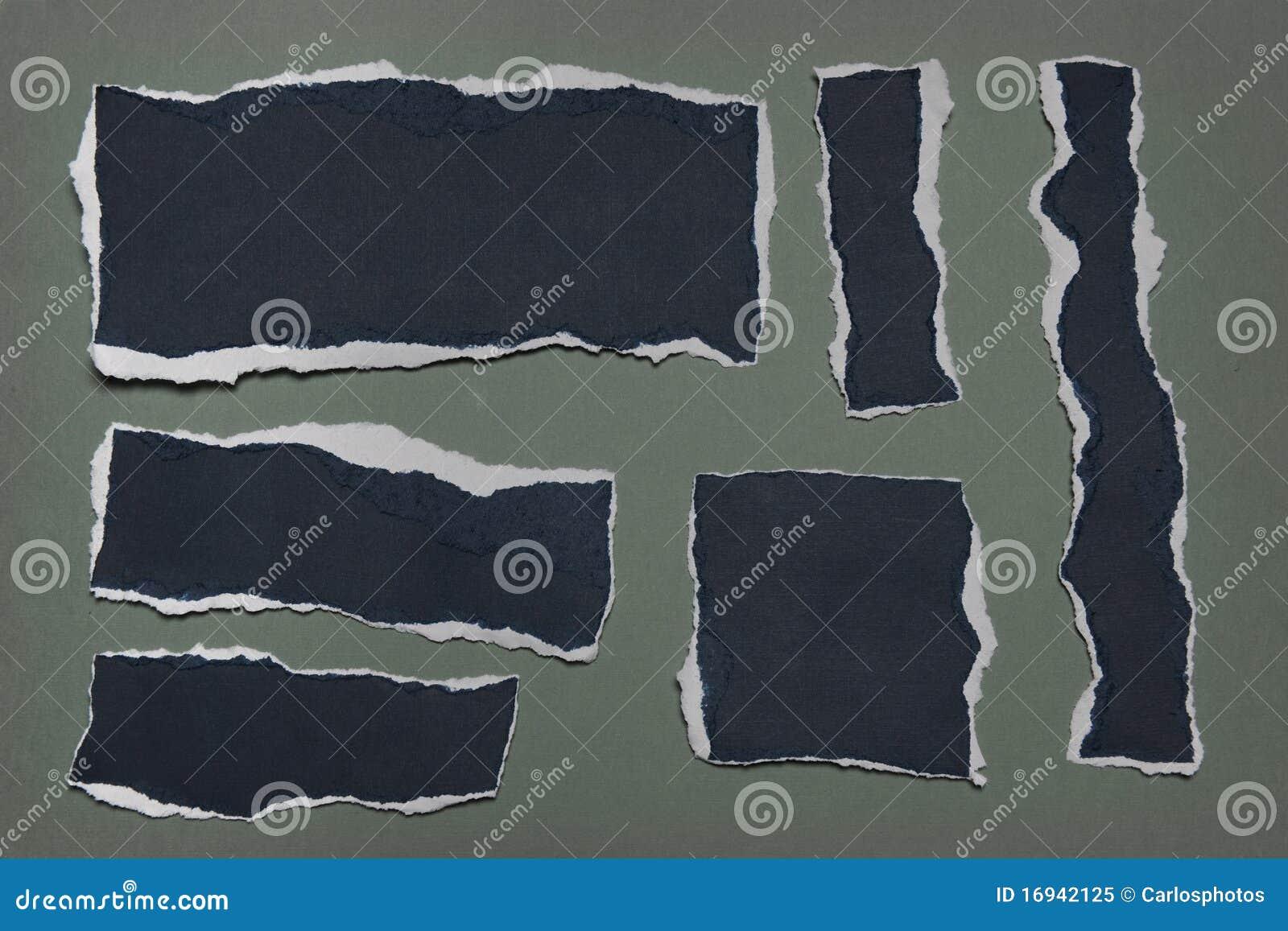 Papier de déchirure