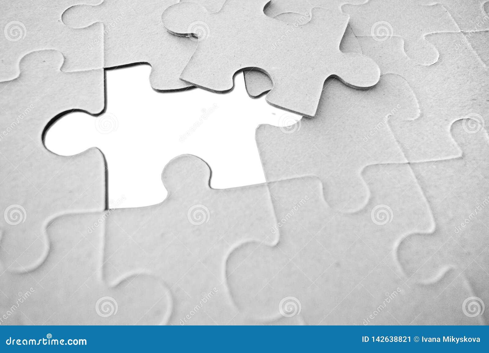 Papier de puzzle