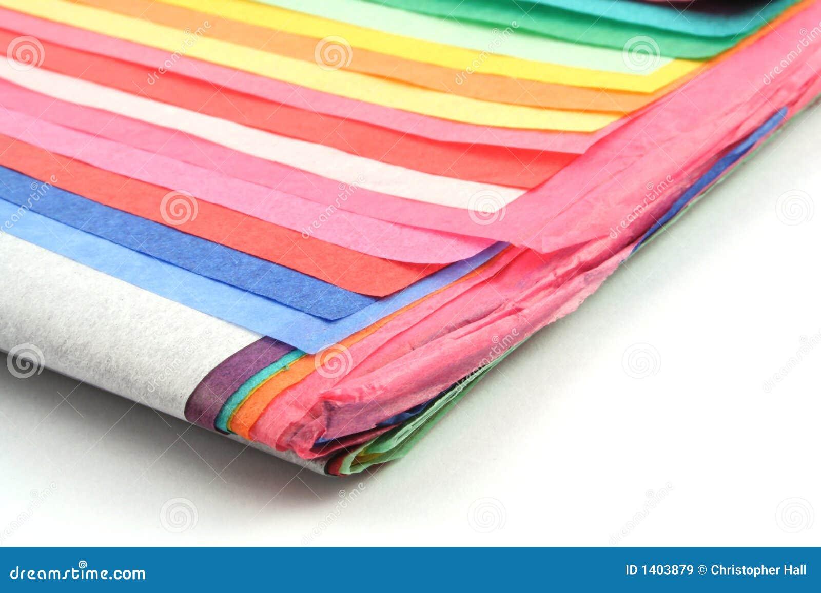 Papier de soie de soie