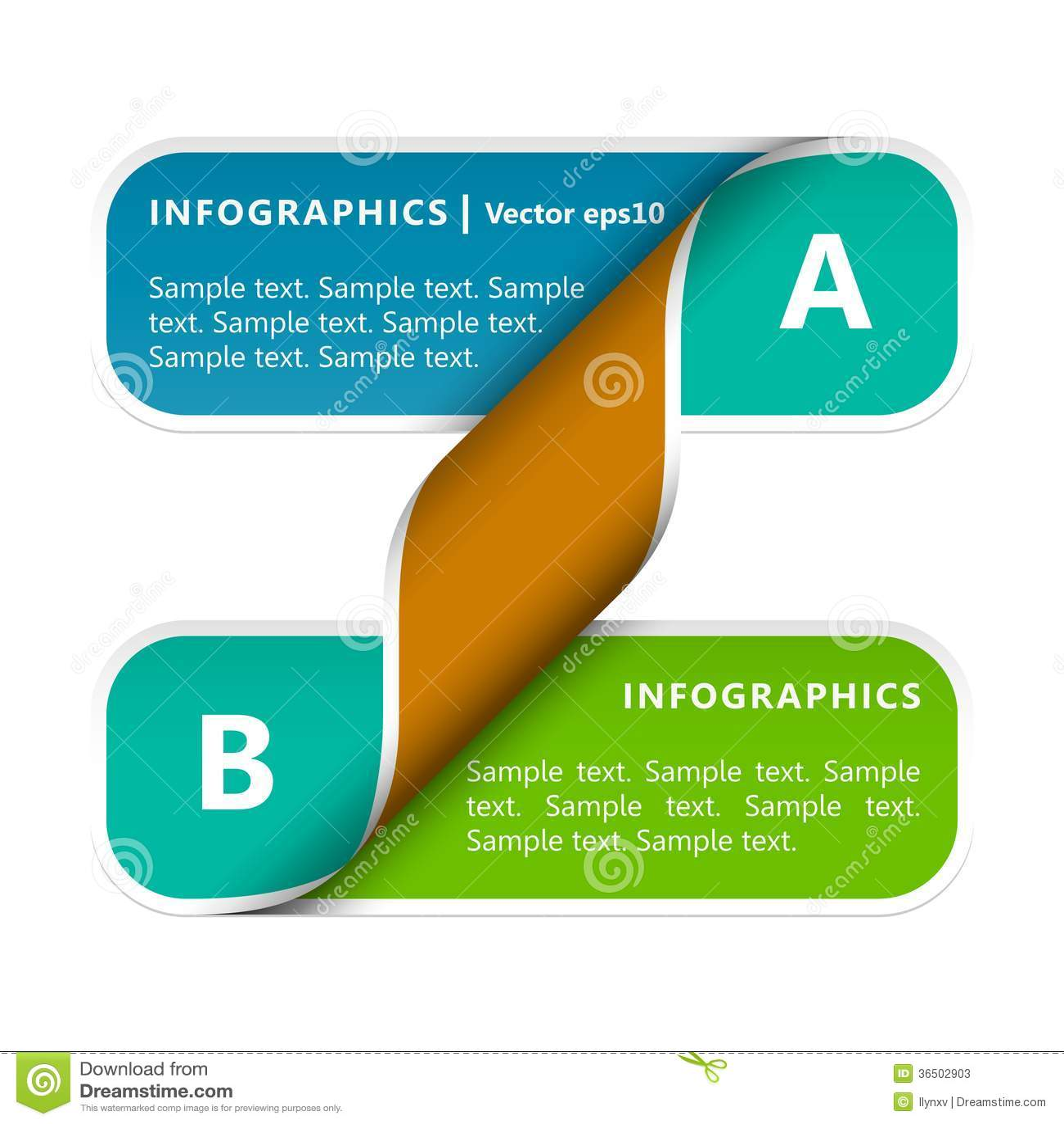 Papier Infographics