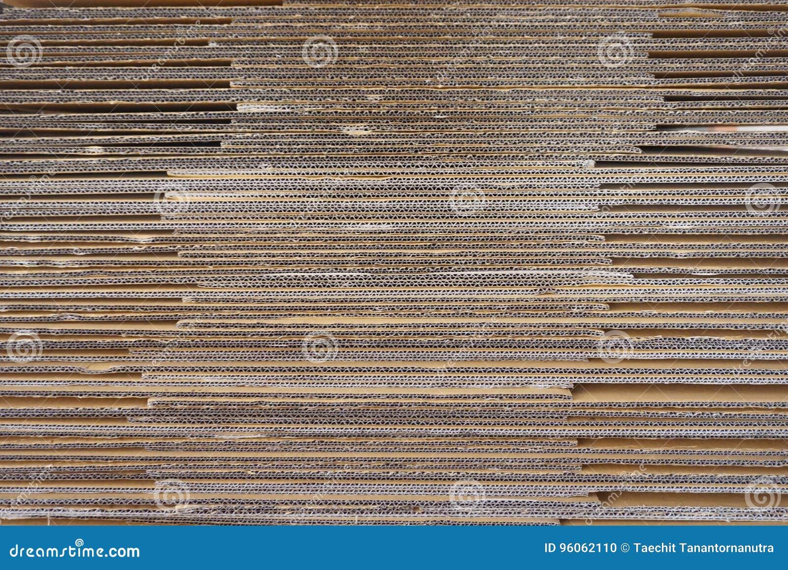 Papier ondulé abstrait