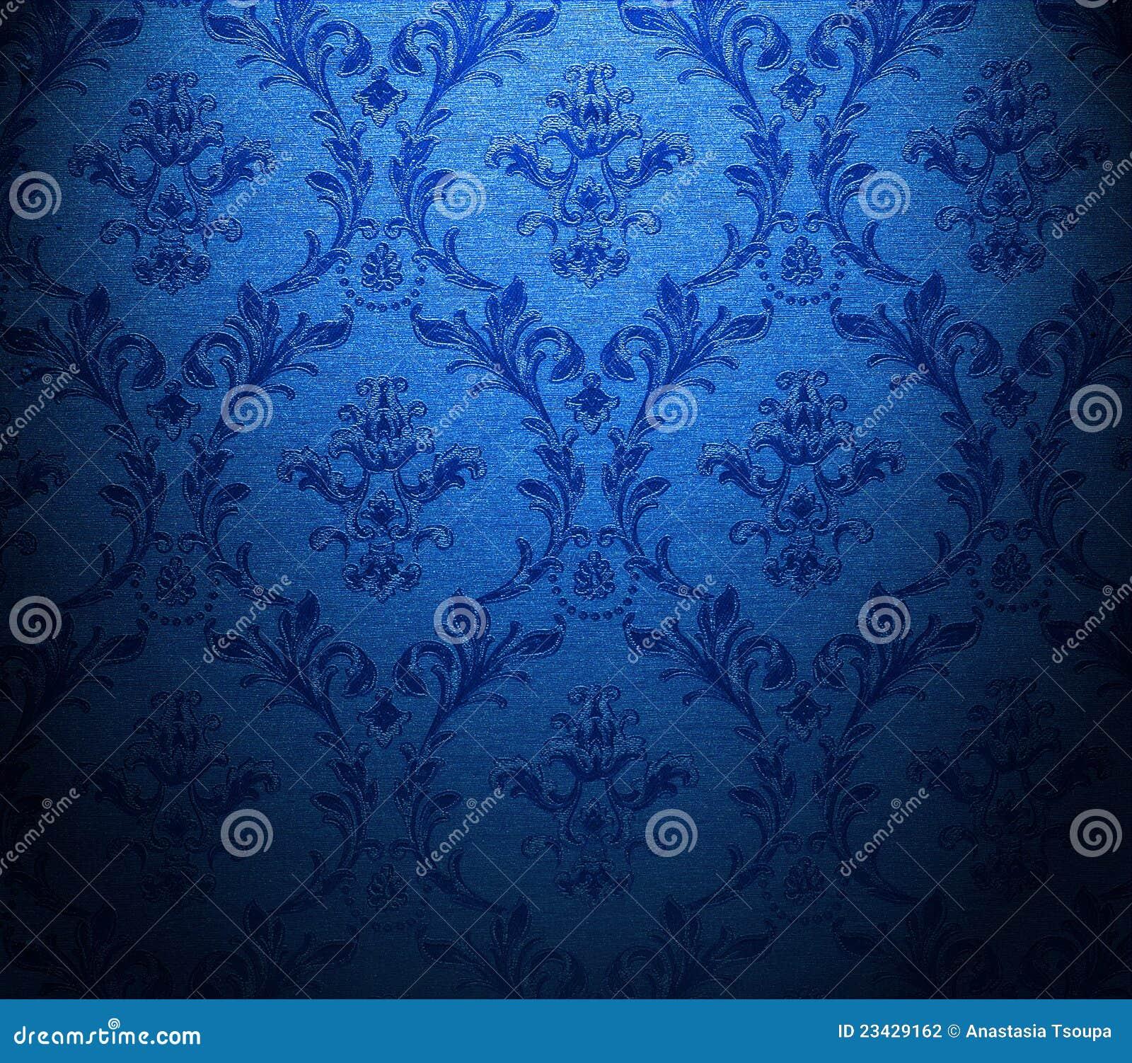 Papier Peint Bleu Classique Photo Stock Image Du Configuration