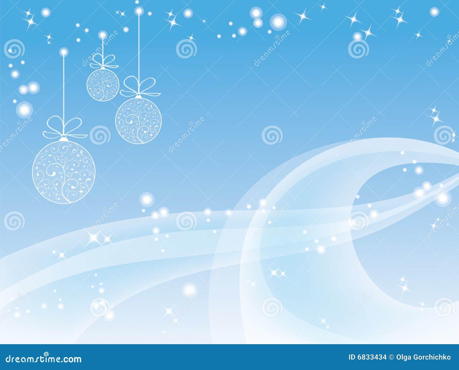 Papier peint bleu de Noël illustration de vecteur. Illustration du beau - 6833434