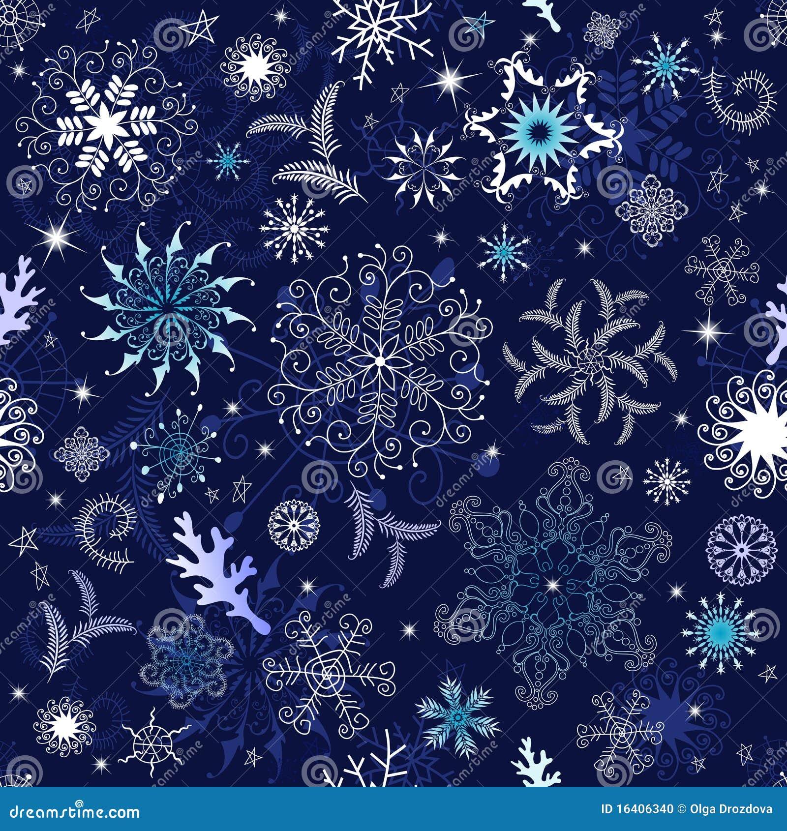 Papier peint bleu fonc sans joint de no l photo stock image 16406340 - Papier peint bleu fonce ...