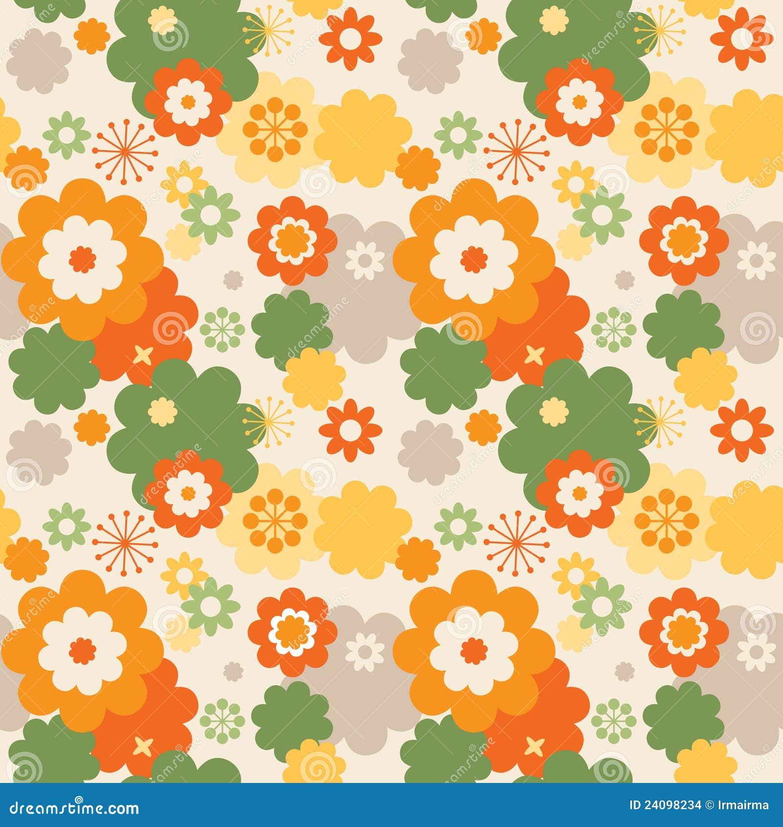 papier peint color de fleurs images stock image 24098234. Black Bedroom Furniture Sets. Home Design Ideas