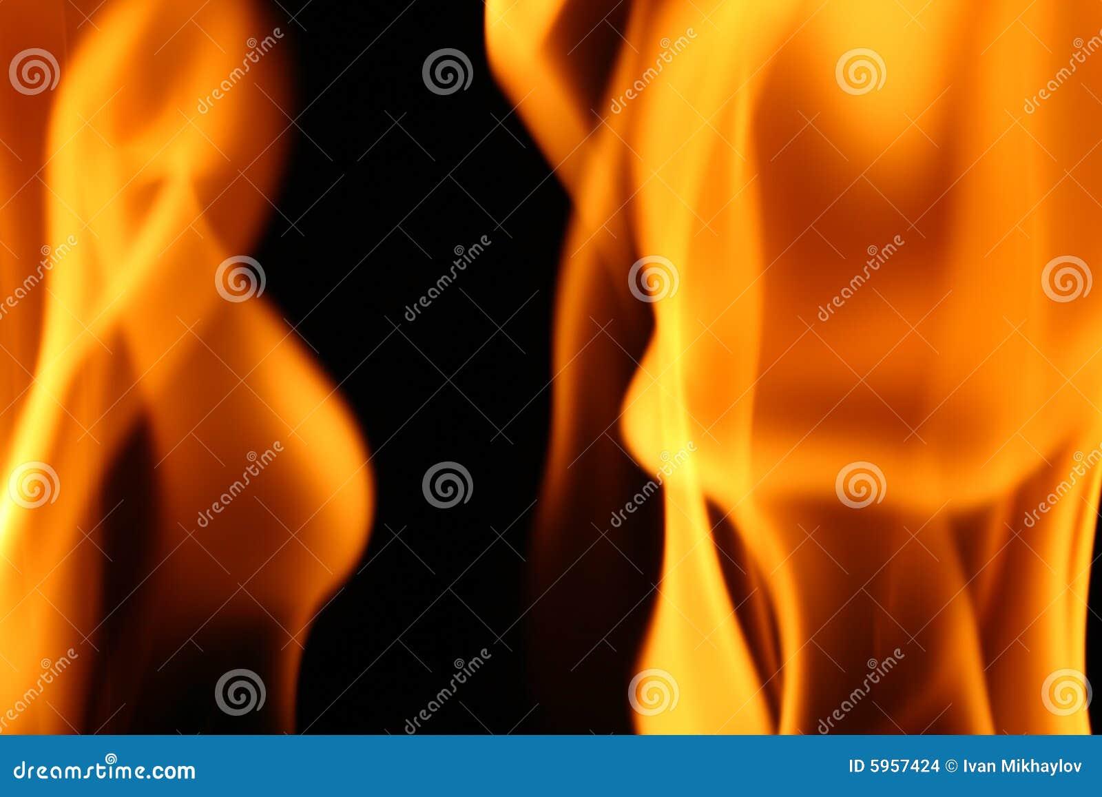Papier peint d incendie