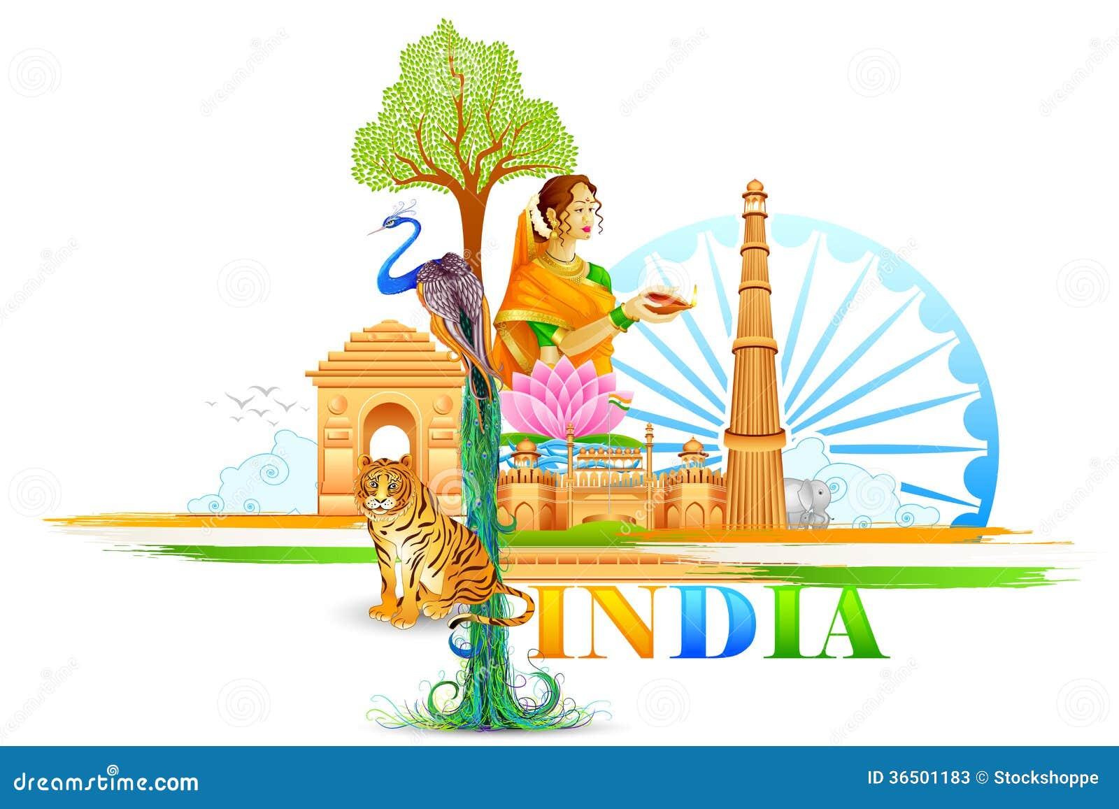 Papier peint d Inde