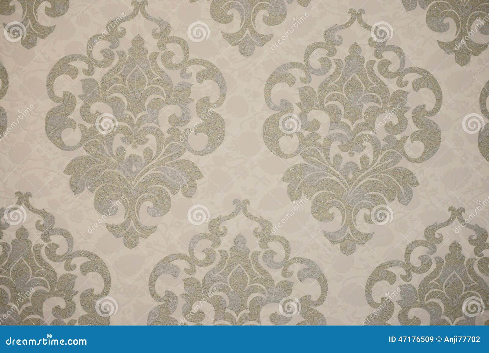 Favori Papier Peint Dans Le Style Ancien Image stock - Image: 47176509 TK43