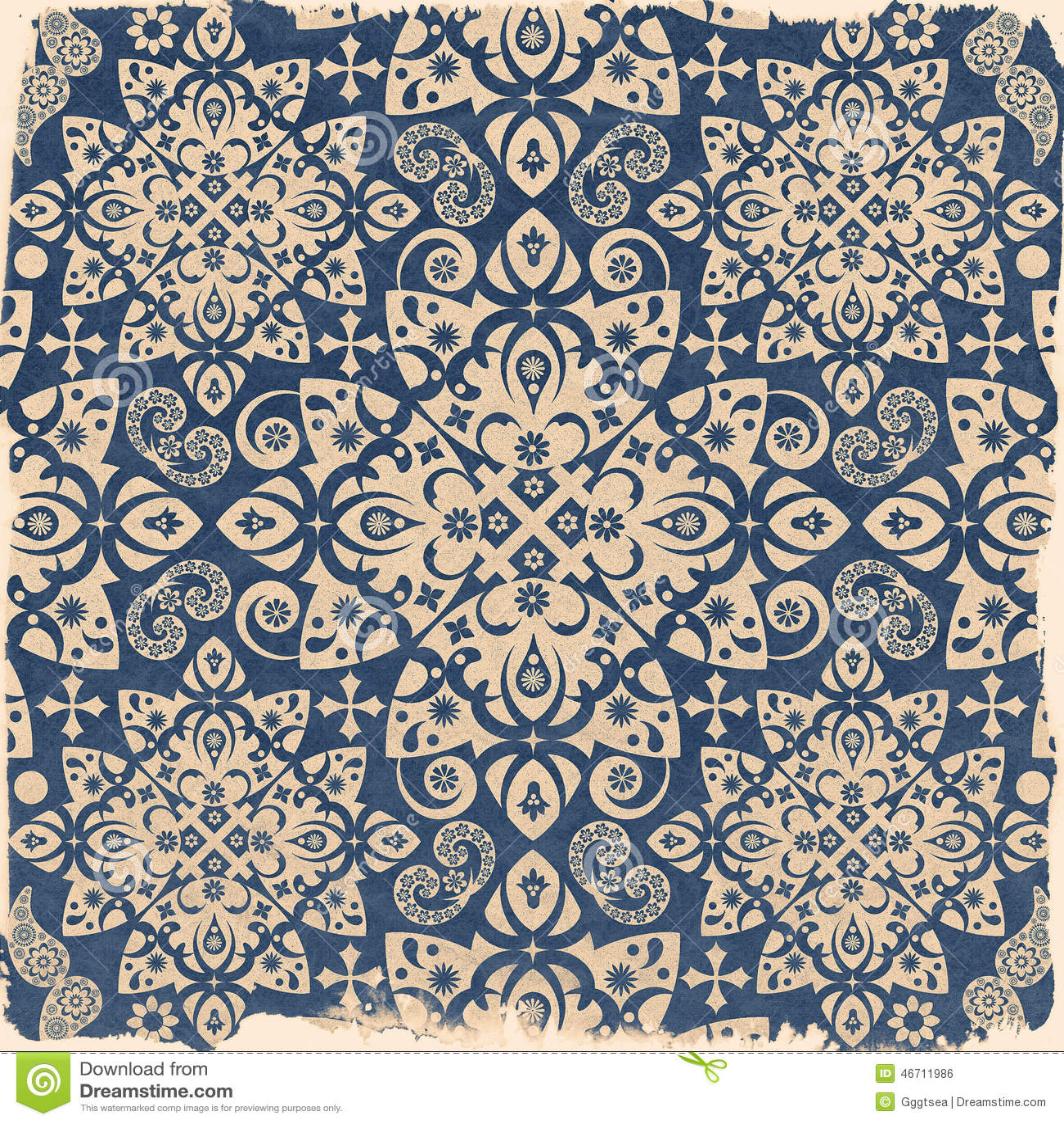 papier peint d coratif d 39 ornement illustration stock image 46711986. Black Bedroom Furniture Sets. Home Design Ideas