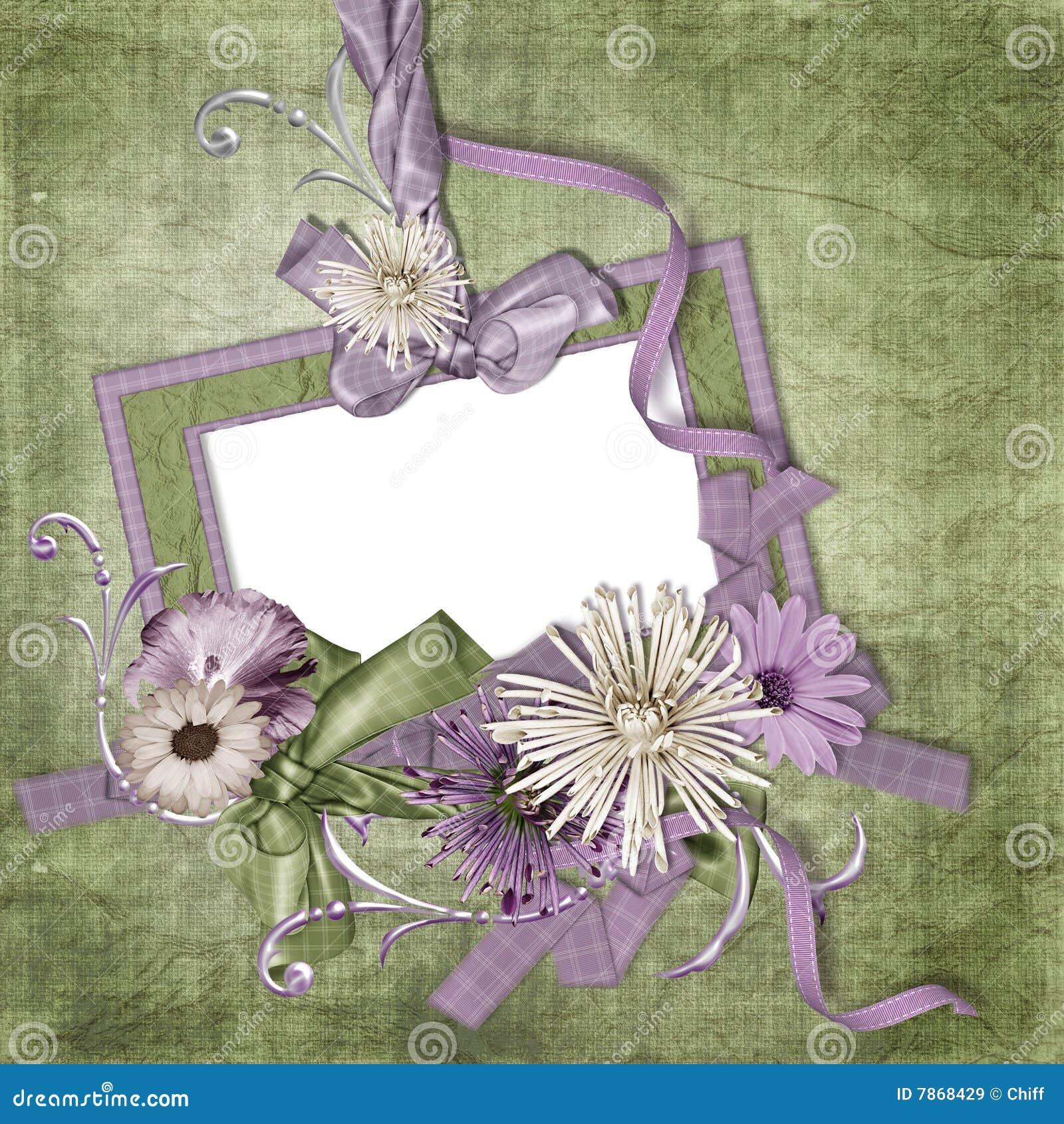 Papier peint de cru avec le cadre de tableau vide images for Tableau avec papier peint