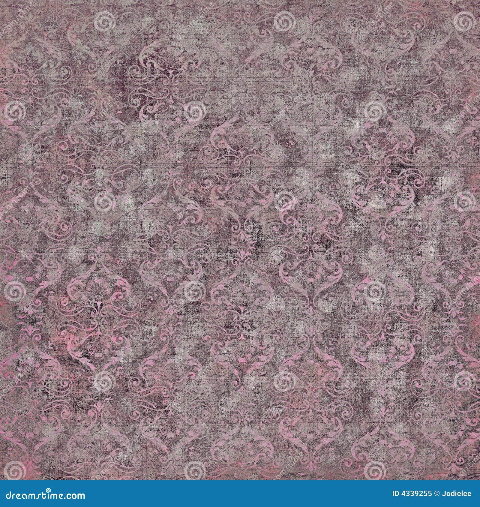 Papier peint de damassé de cru