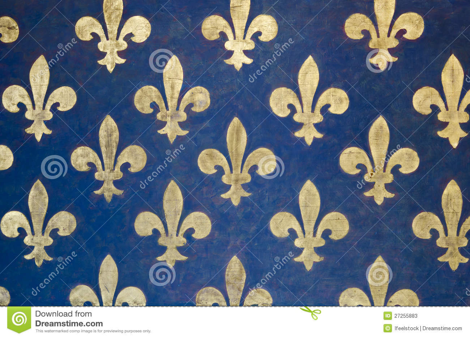 papier peint de fleur de lis image stock image 27255883. Black Bedroom Furniture Sets. Home Design Ideas
