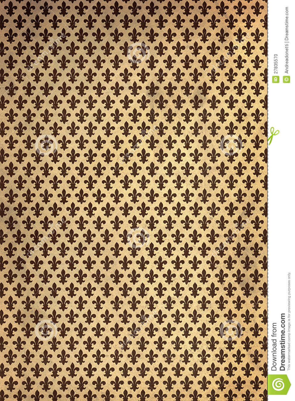papier peint de fleur de lys de cru photo stock image 27835570. Black Bedroom Furniture Sets. Home Design Ideas