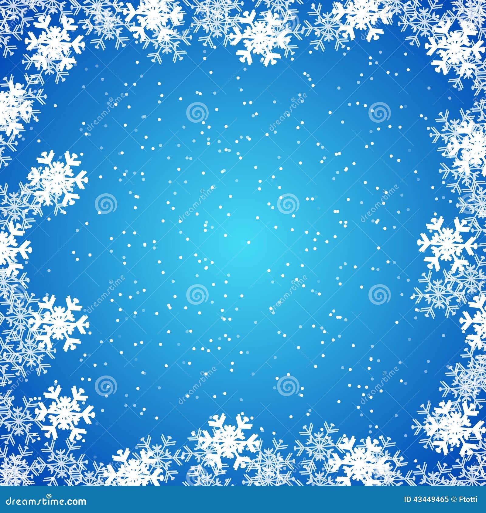 Papier peint de no l fond avec des flocons de neige illustration de vecteur image 43449465 - Papier peint reine des neiges ...
