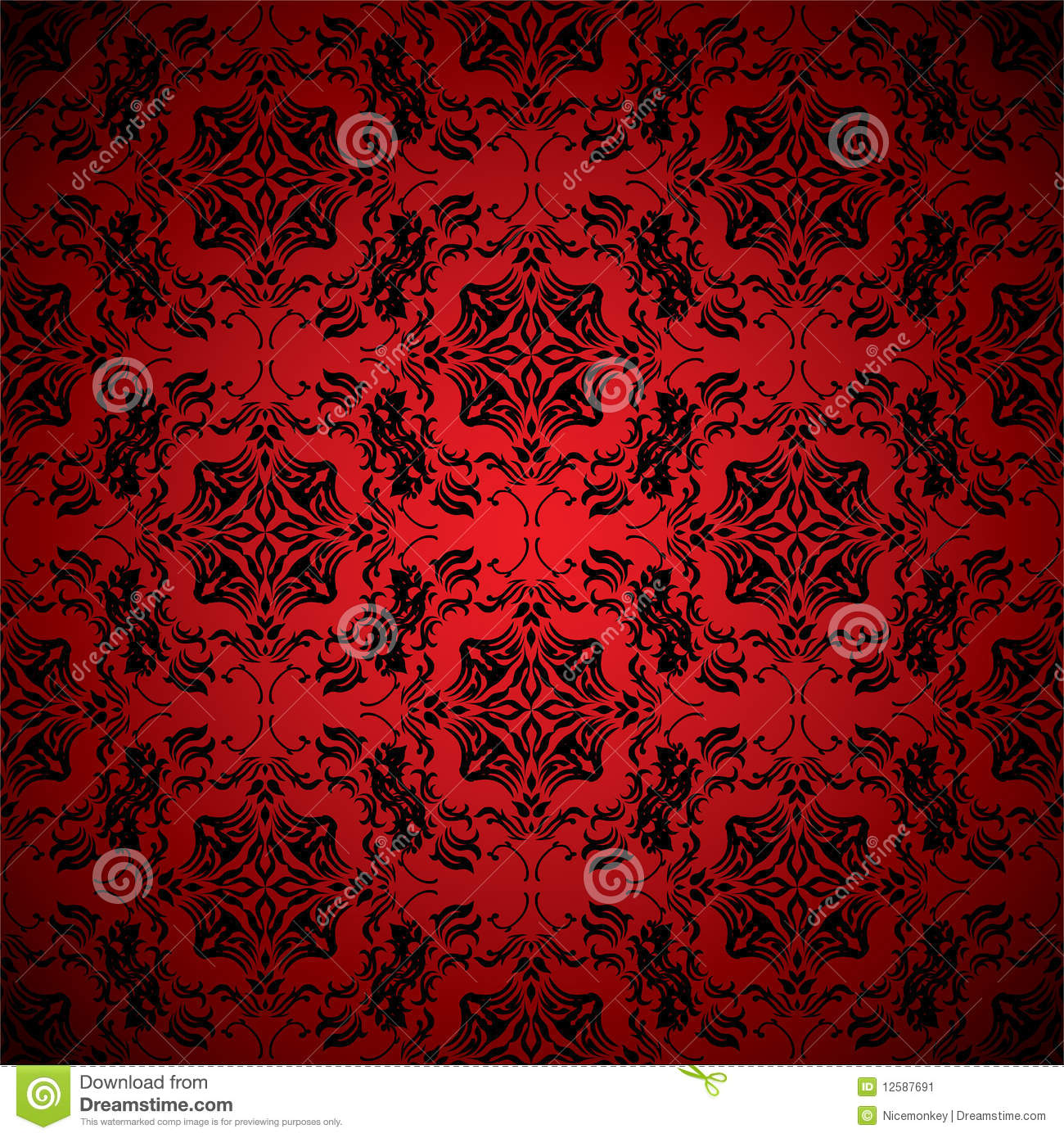 papier peint de rouge de sang illustration de vecteur image 12587691. Black Bedroom Furniture Sets. Home Design Ideas