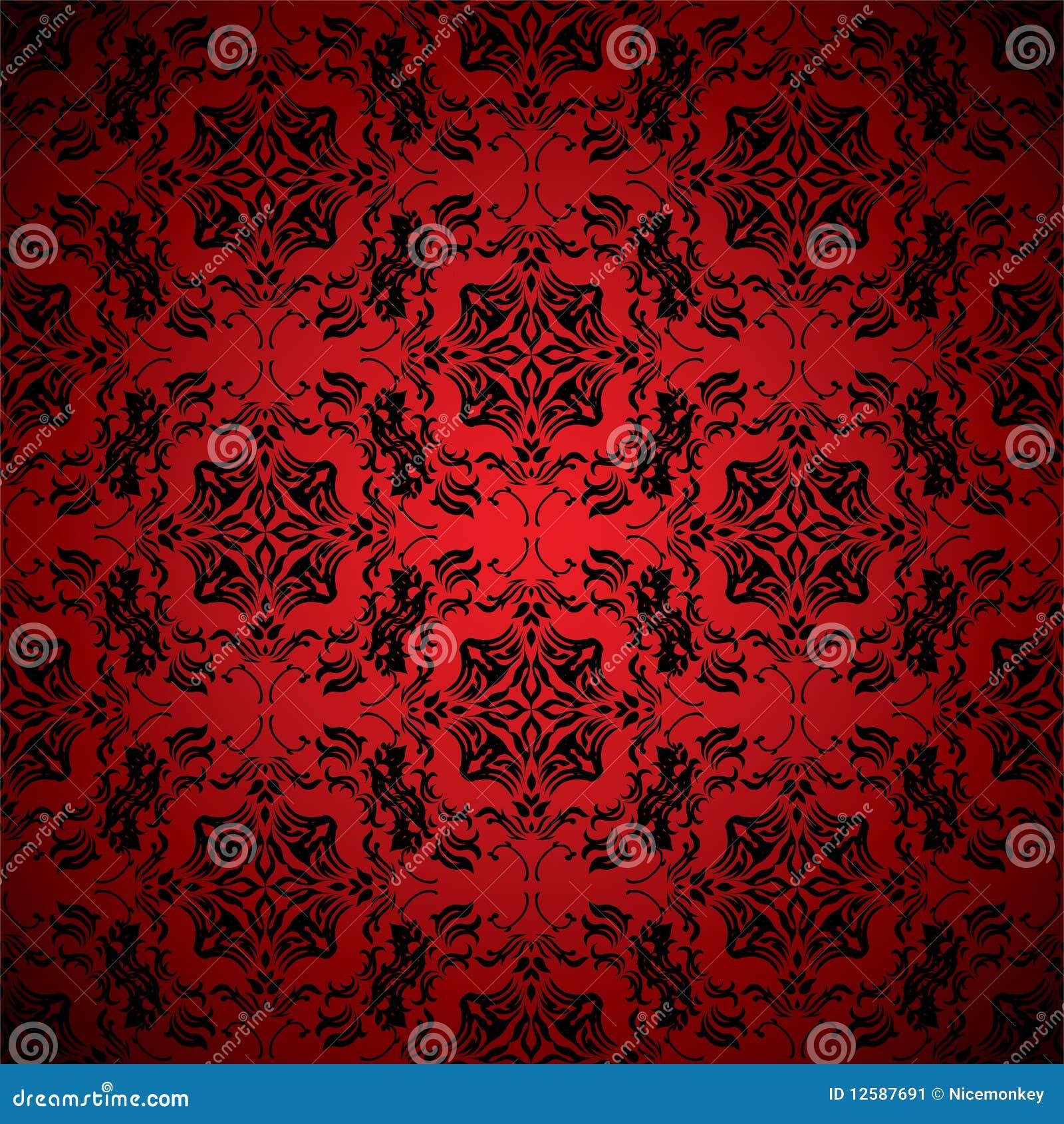 papier peint de rouge de sang illustration de vecteur image 12587691. Black Bedroom Furniture Sets. Home Design Ideas