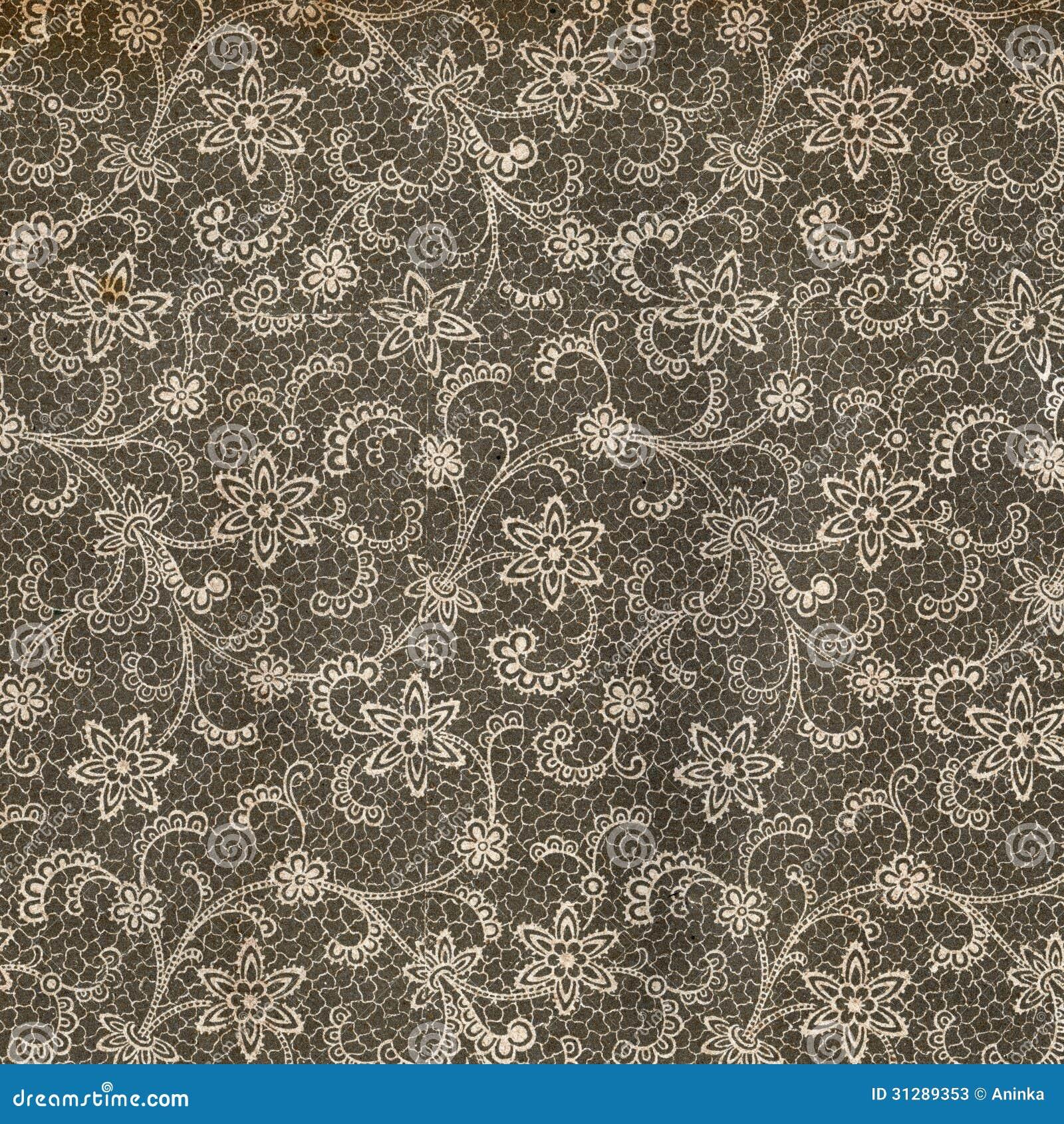 papier peint de vintage dentelle image stock image du lacet ornement 31289353. Black Bedroom Furniture Sets. Home Design Ideas