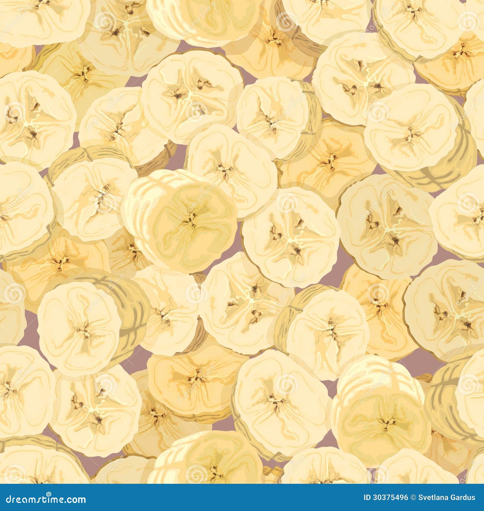 Papier peint des bananes de coupe illustration de vecteur illustration du fond d coration - Couper papier peint sans dechirer ...
