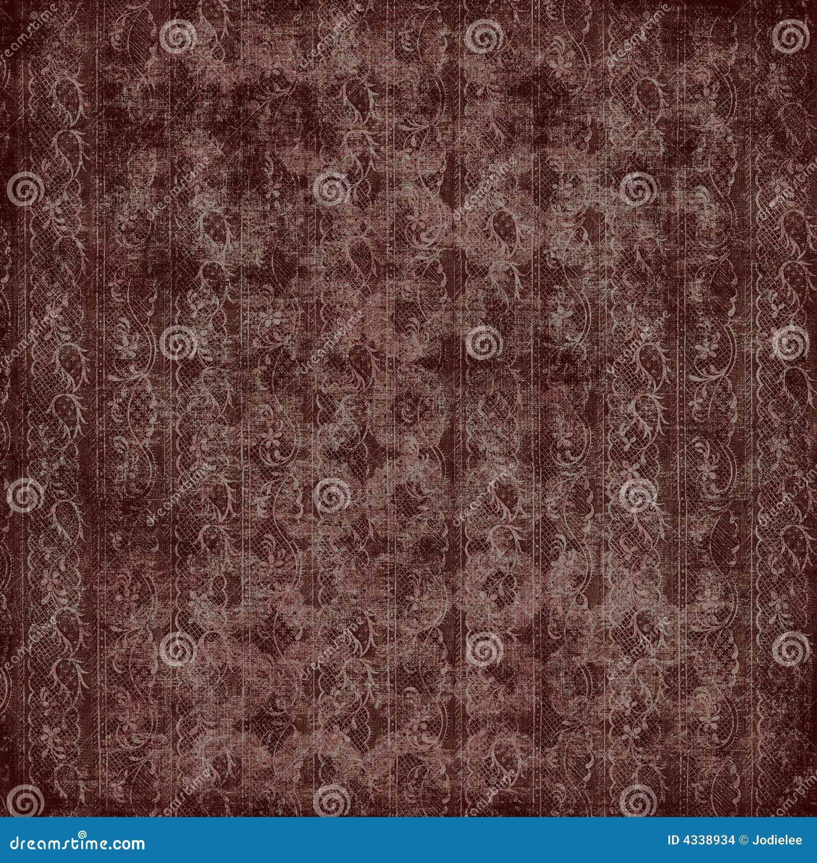 Papier peint floral de cru