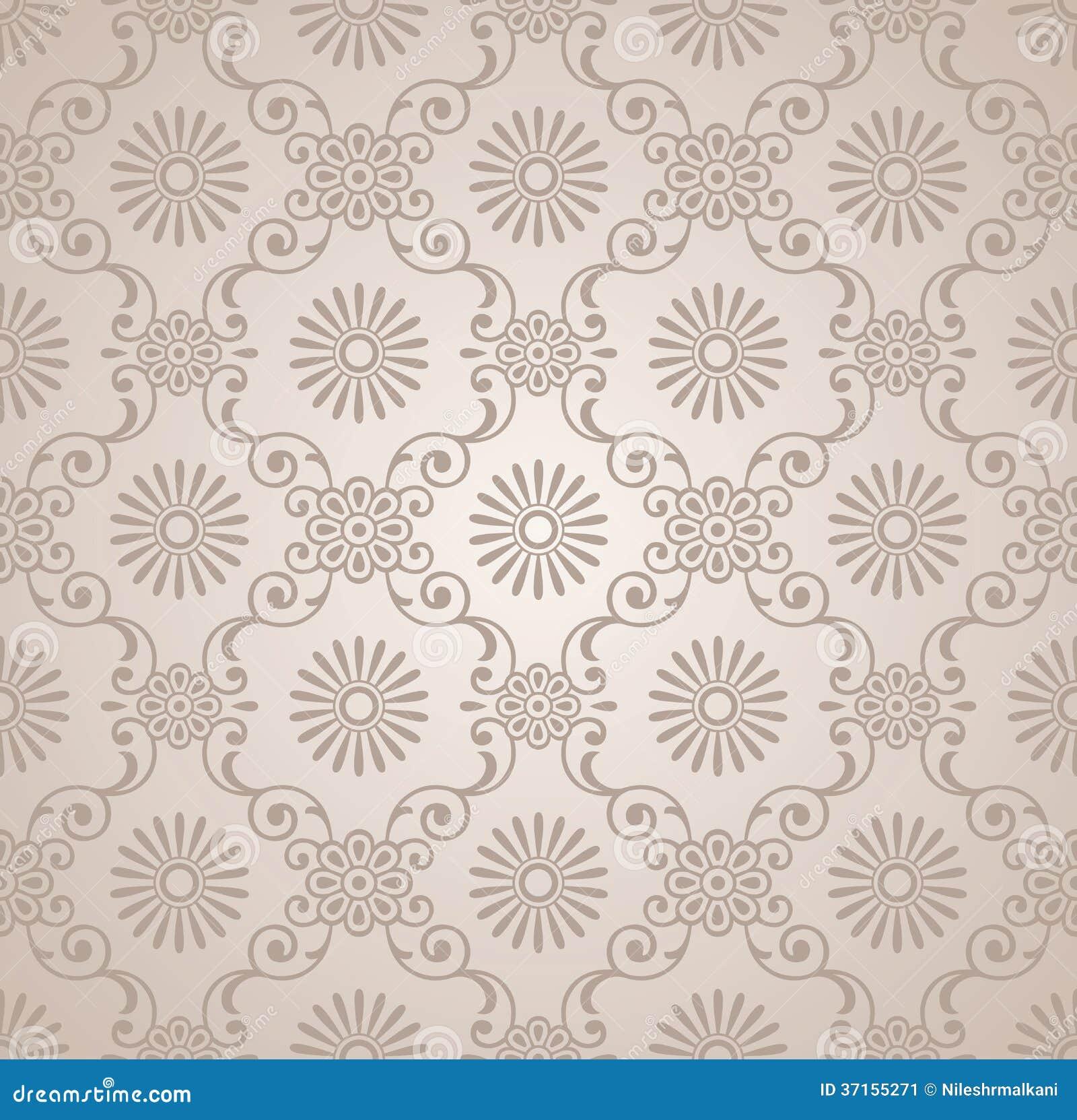 papier peint floral de vecteur classique illustration de vecteur illustration du rassembl. Black Bedroom Furniture Sets. Home Design Ideas