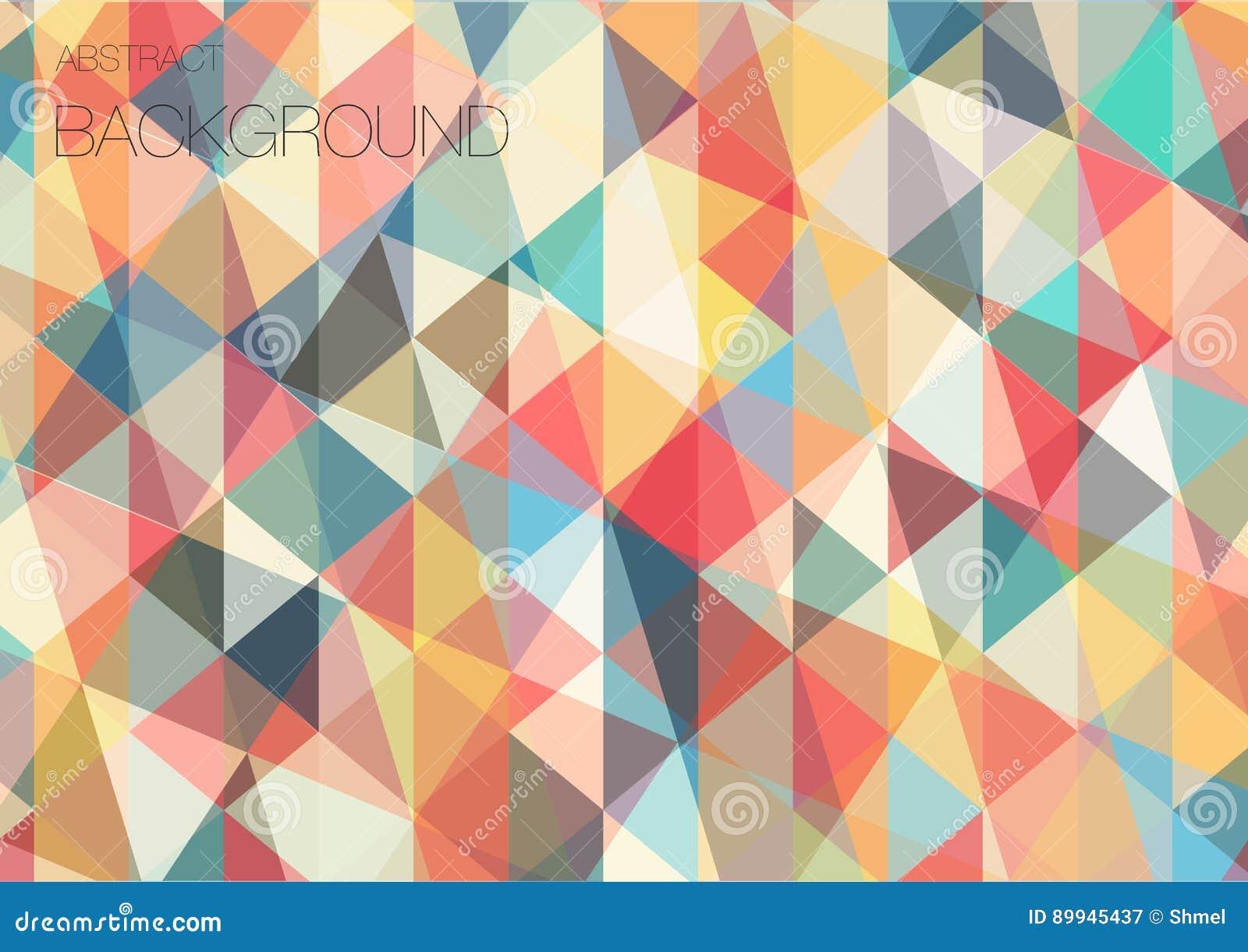 papier peint g om trique de triangle plate illustration de vecteur illustration du type place. Black Bedroom Furniture Sets. Home Design Ideas