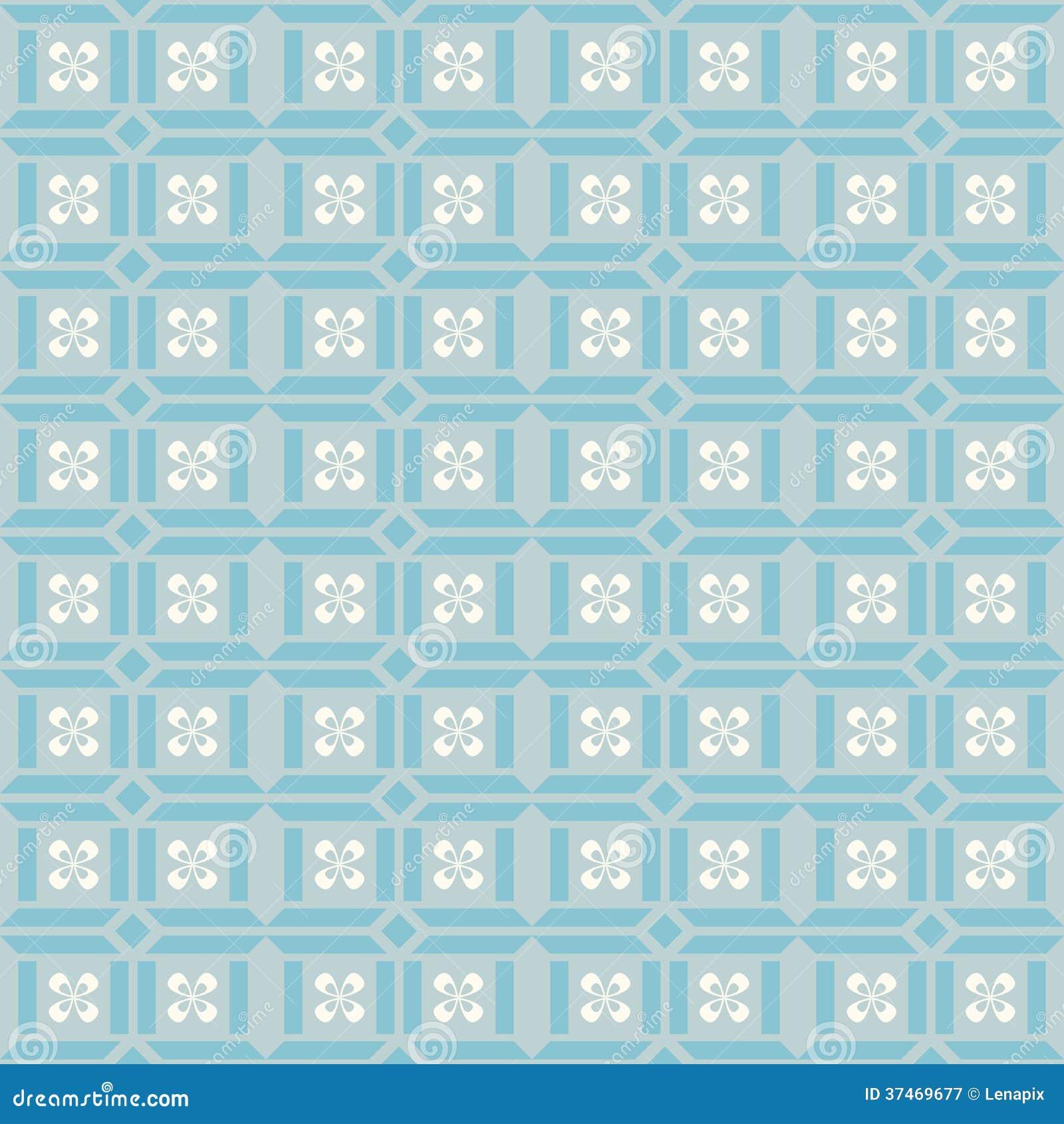 papier peint g om trique de gris bleu photographie stock libre de droits image 37469677. Black Bedroom Furniture Sets. Home Design Ideas