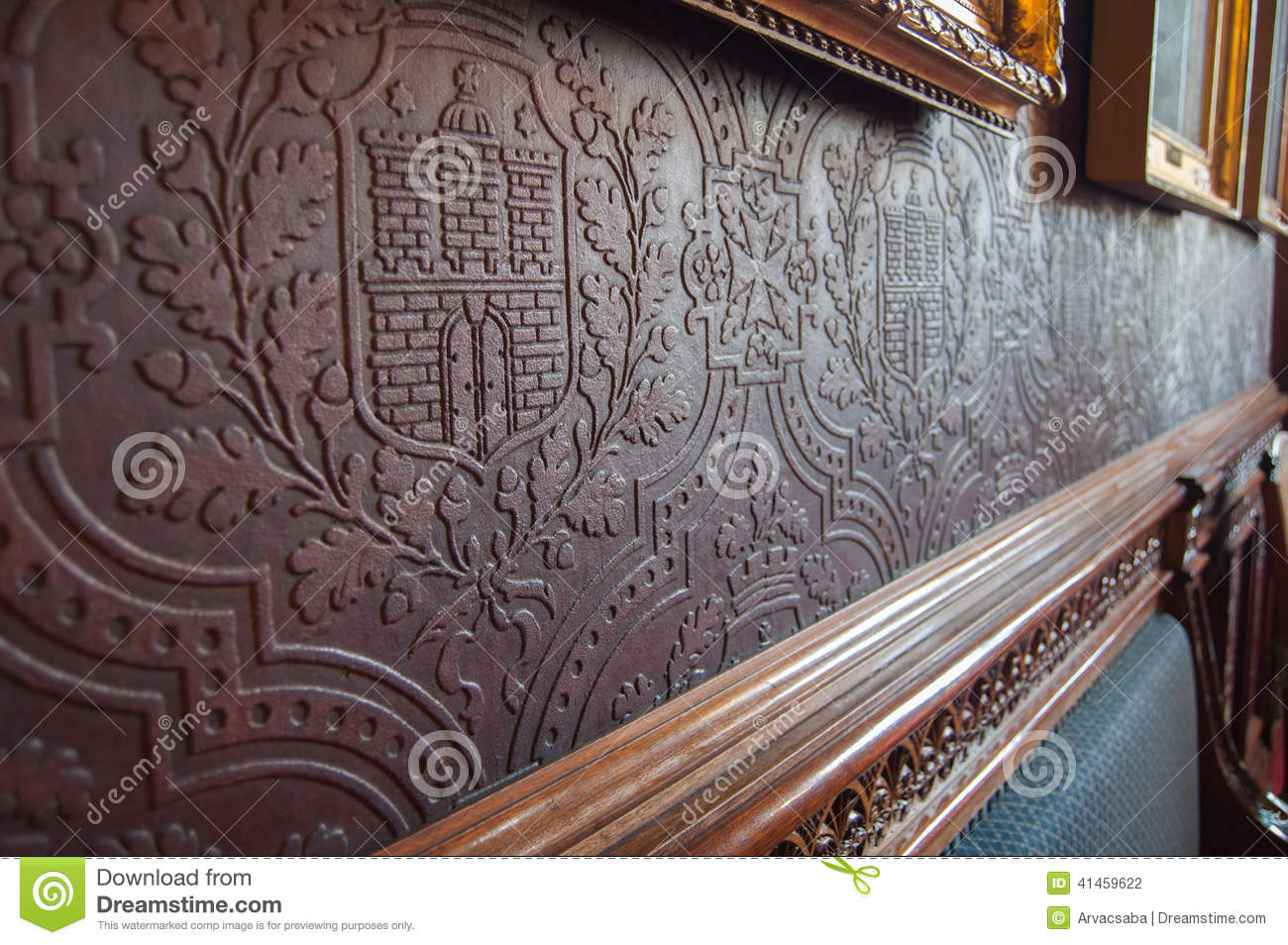 papier peint historique de relief photo stock image 41459622. Black Bedroom Furniture Sets. Home Design Ideas