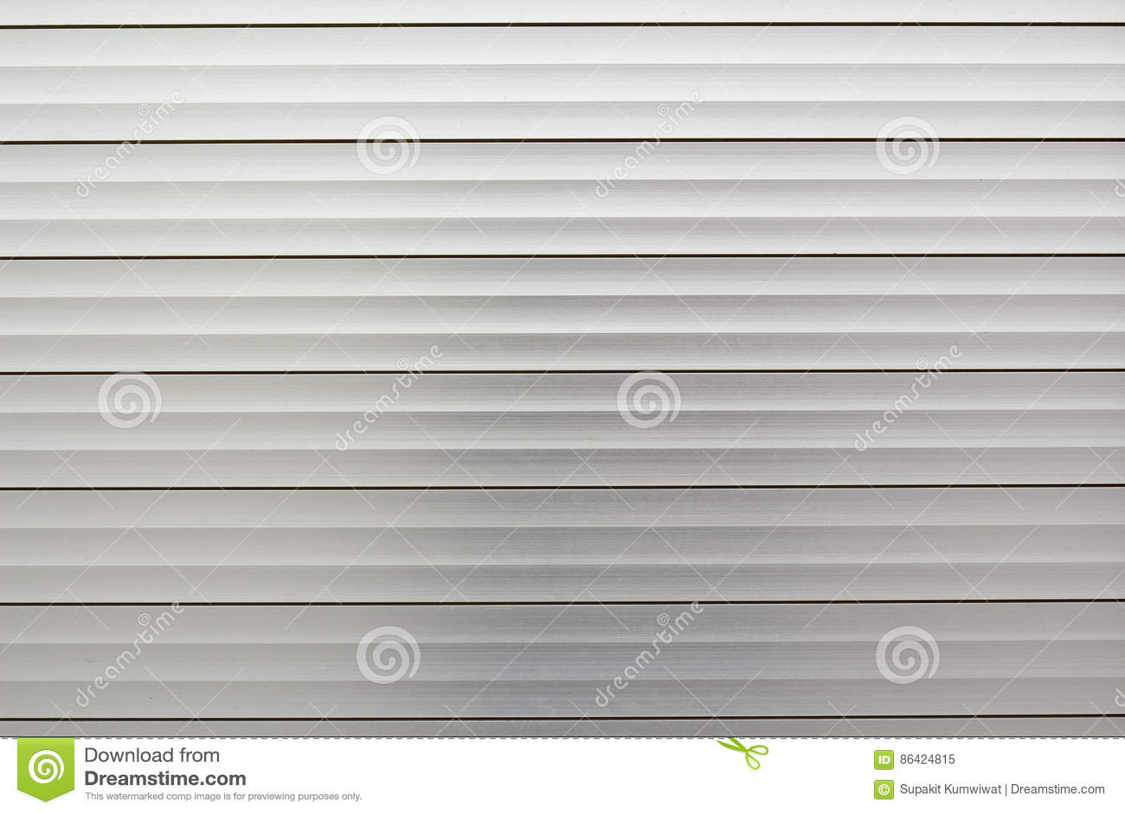 Papier Peint Horizontal Gris De Texture De Feuillard Image Stock