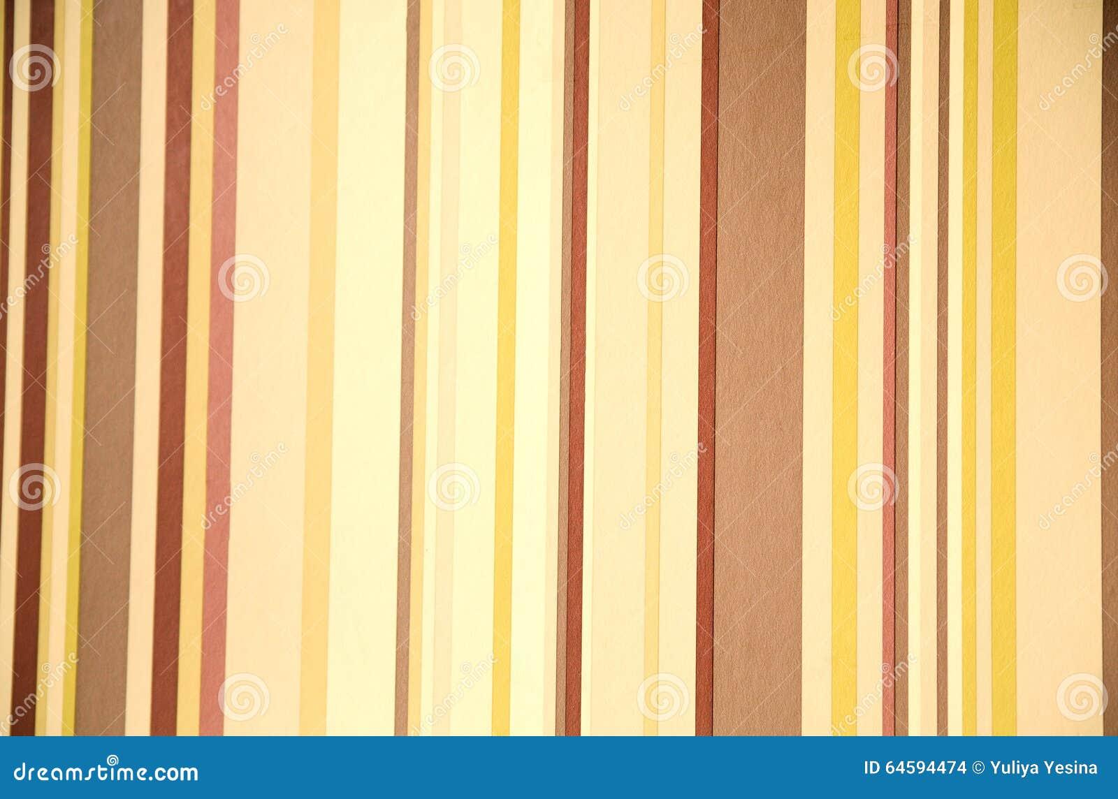 Papier peint moderne avec des couleurs chaudes et des for Papier peint avec rond de couleur