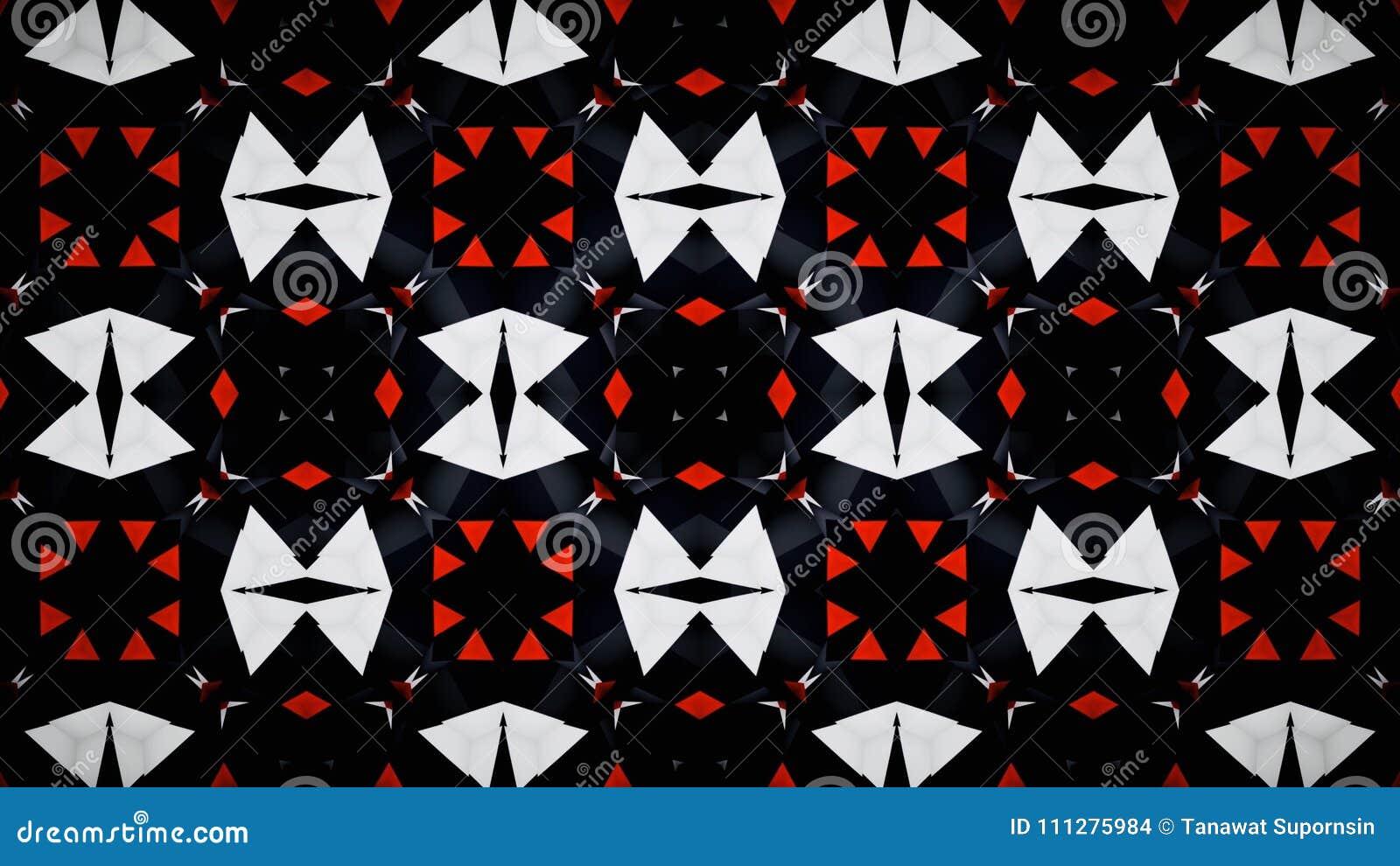 Papier Peint Noir Blanc Rouge Abstrait De Couleur De Bloc De