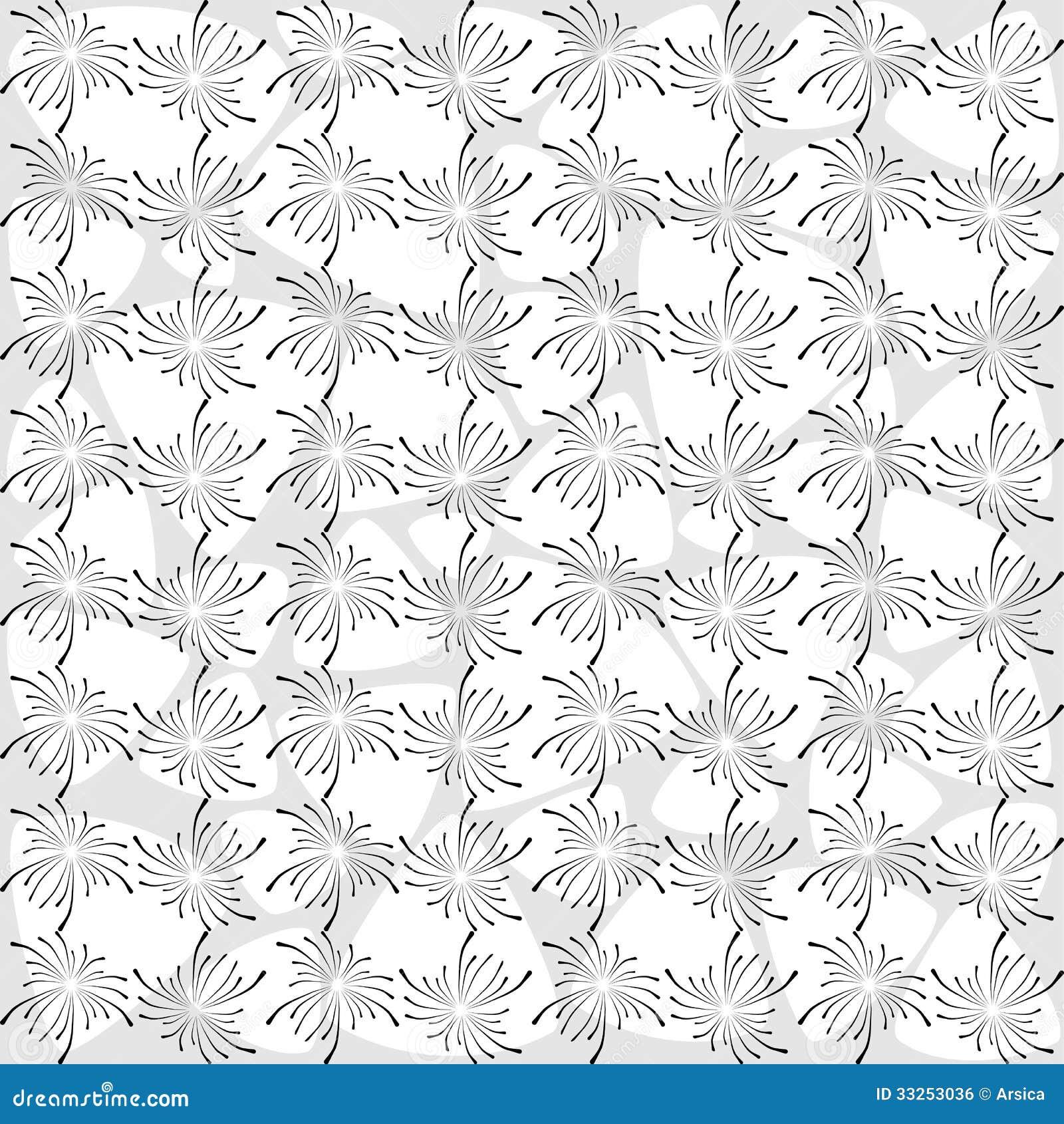 Papier Peint Noir Et Blanc Moderne Image Libre De Droits Image 33253036