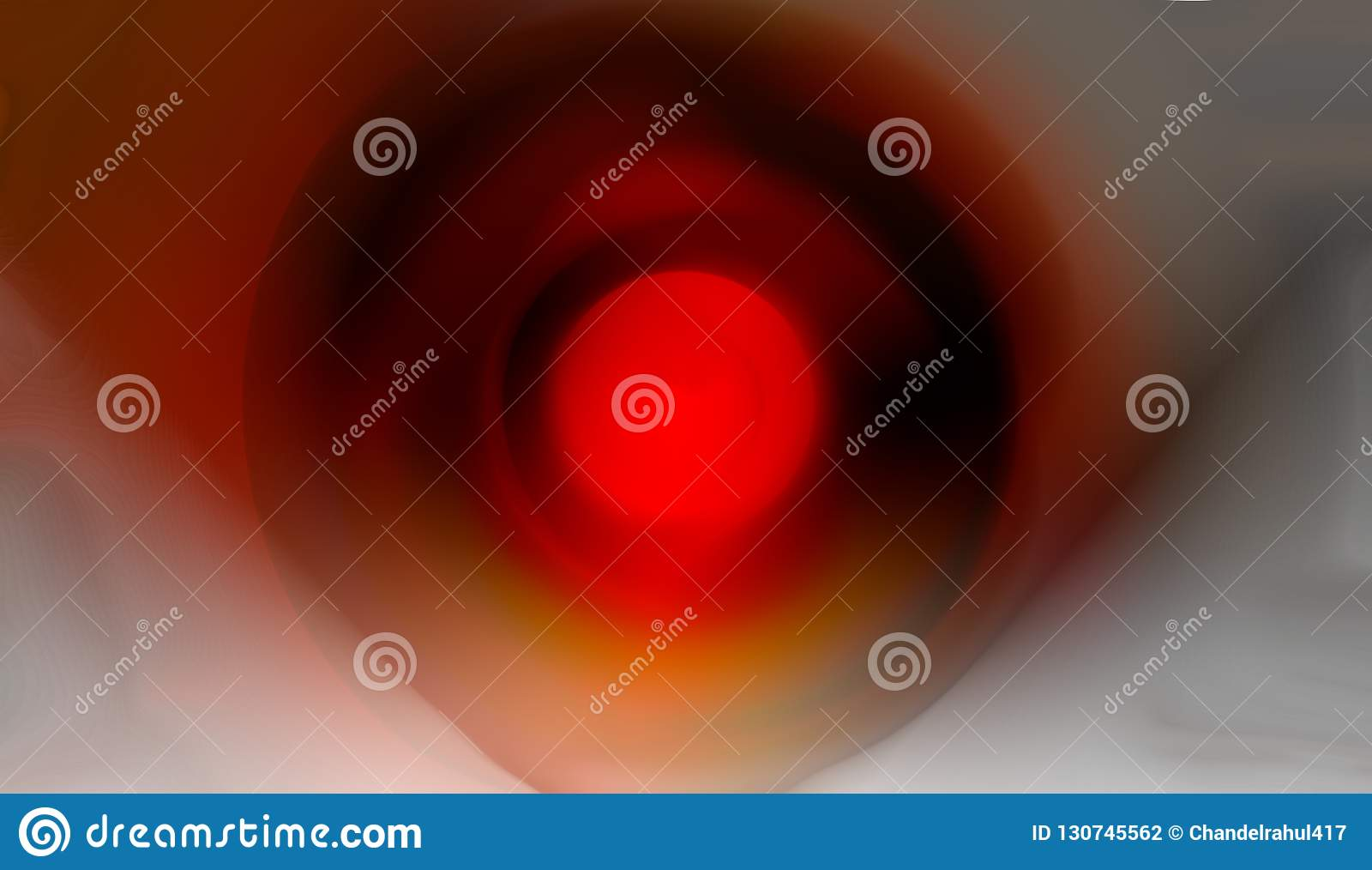 Papier peint ombragé rouge foncé et par wite brouillé jaune de fond illustration vive de vecteur de couleur