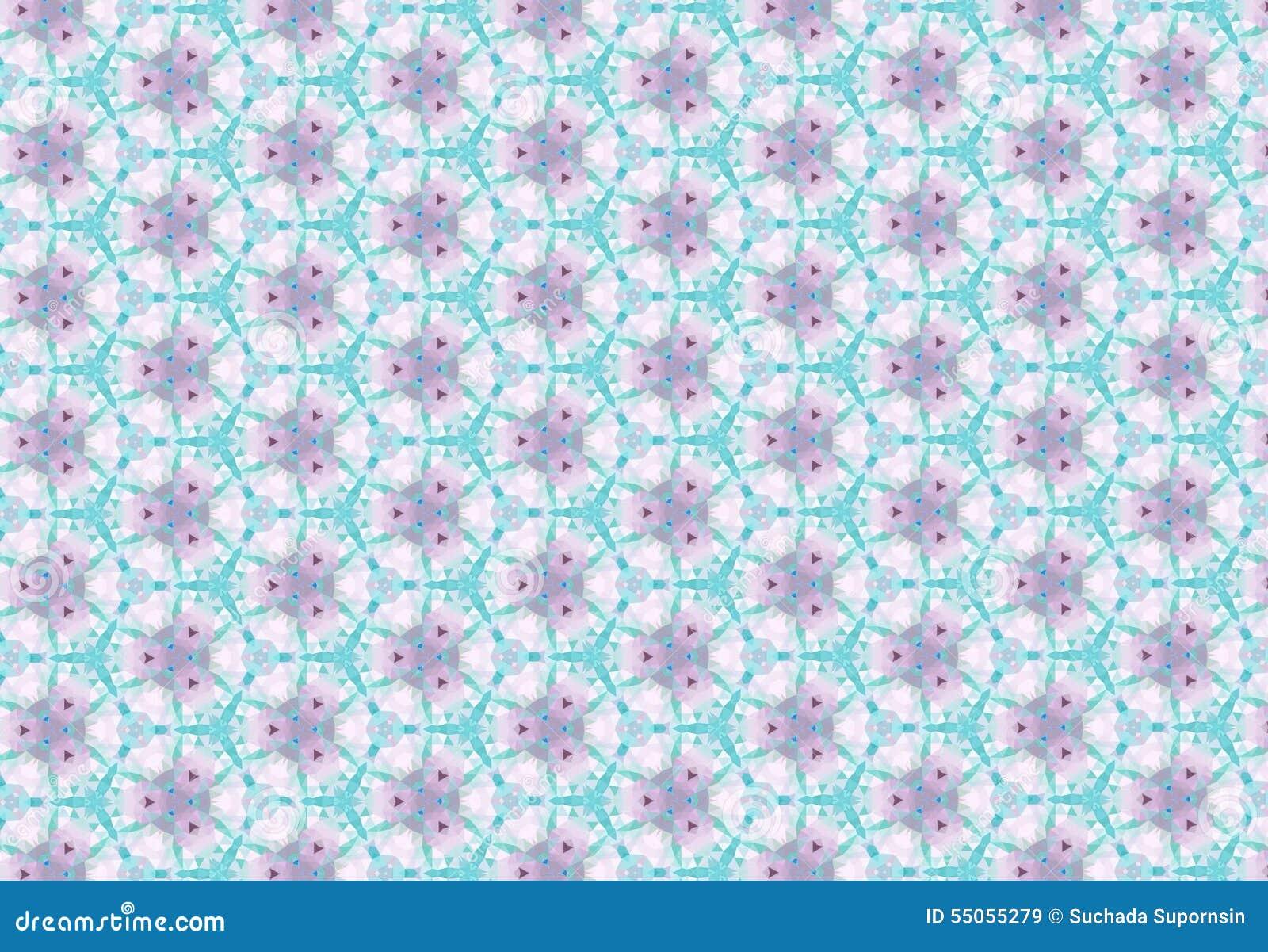 papier peint rose bleu abstrait de mod le de fleur photo. Black Bedroom Furniture Sets. Home Design Ideas