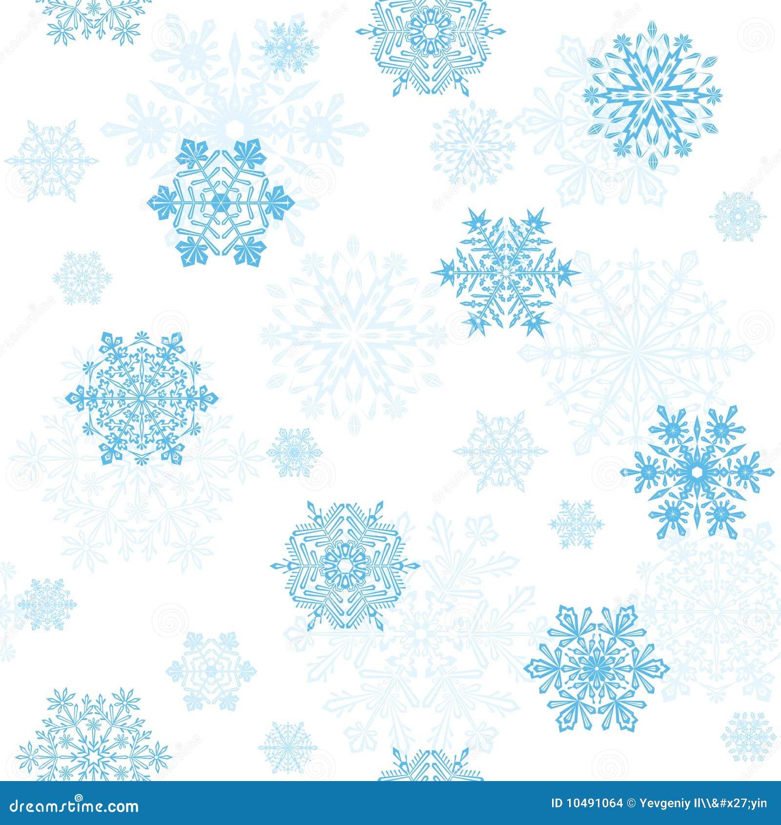 papier peint sans joint de flocons de neige illustration de vecteur image 10491064. Black Bedroom Furniture Sets. Home Design Ideas