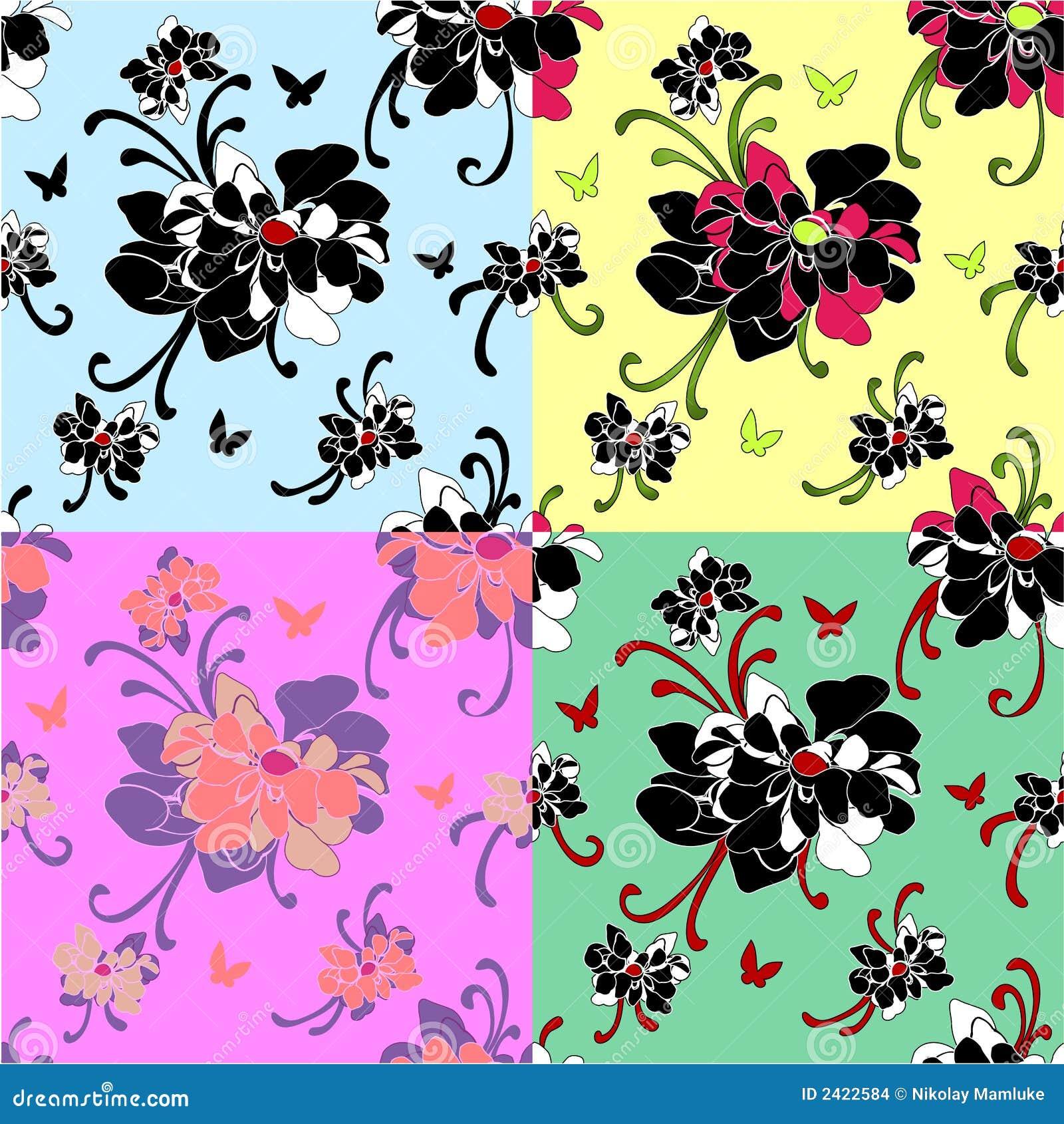 papier peint sans joint de motif de pivoine illustration de vecteur illustration du tissu. Black Bedroom Furniture Sets. Home Design Ideas