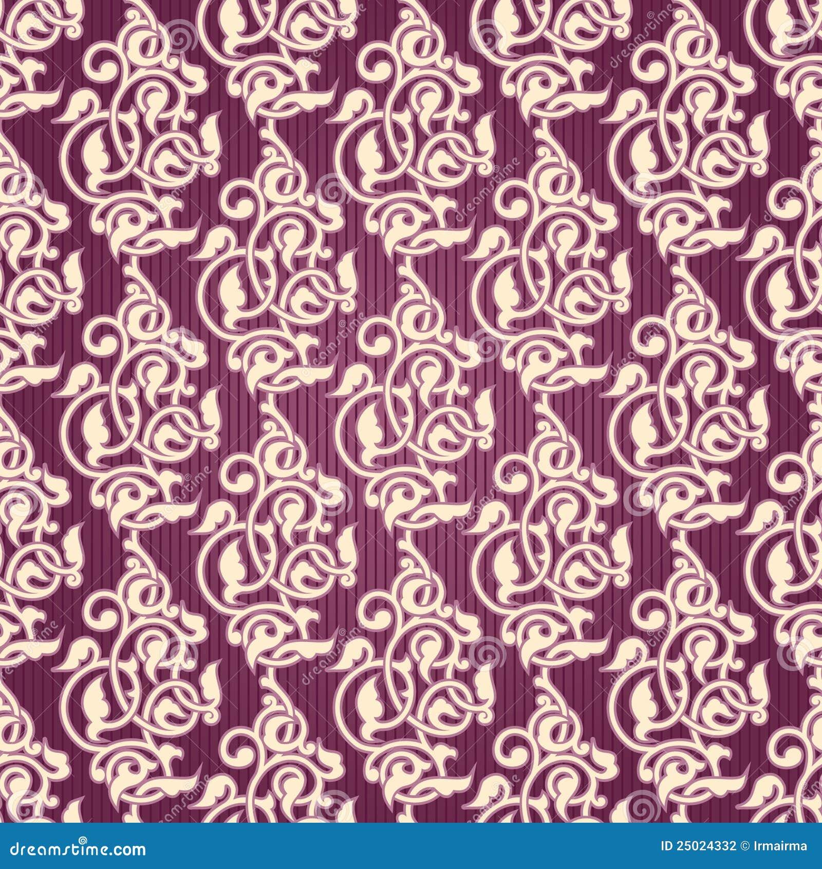 papier peint sans joint ornemental avec des arabesques illustration stock image 25024332. Black Bedroom Furniture Sets. Home Design Ideas