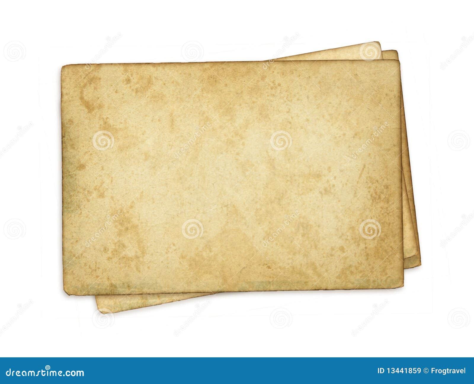 Papier stara sterta