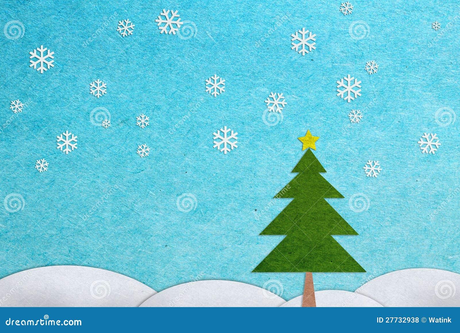 Papierfertigkeit-Weihnachtsgrußkarte