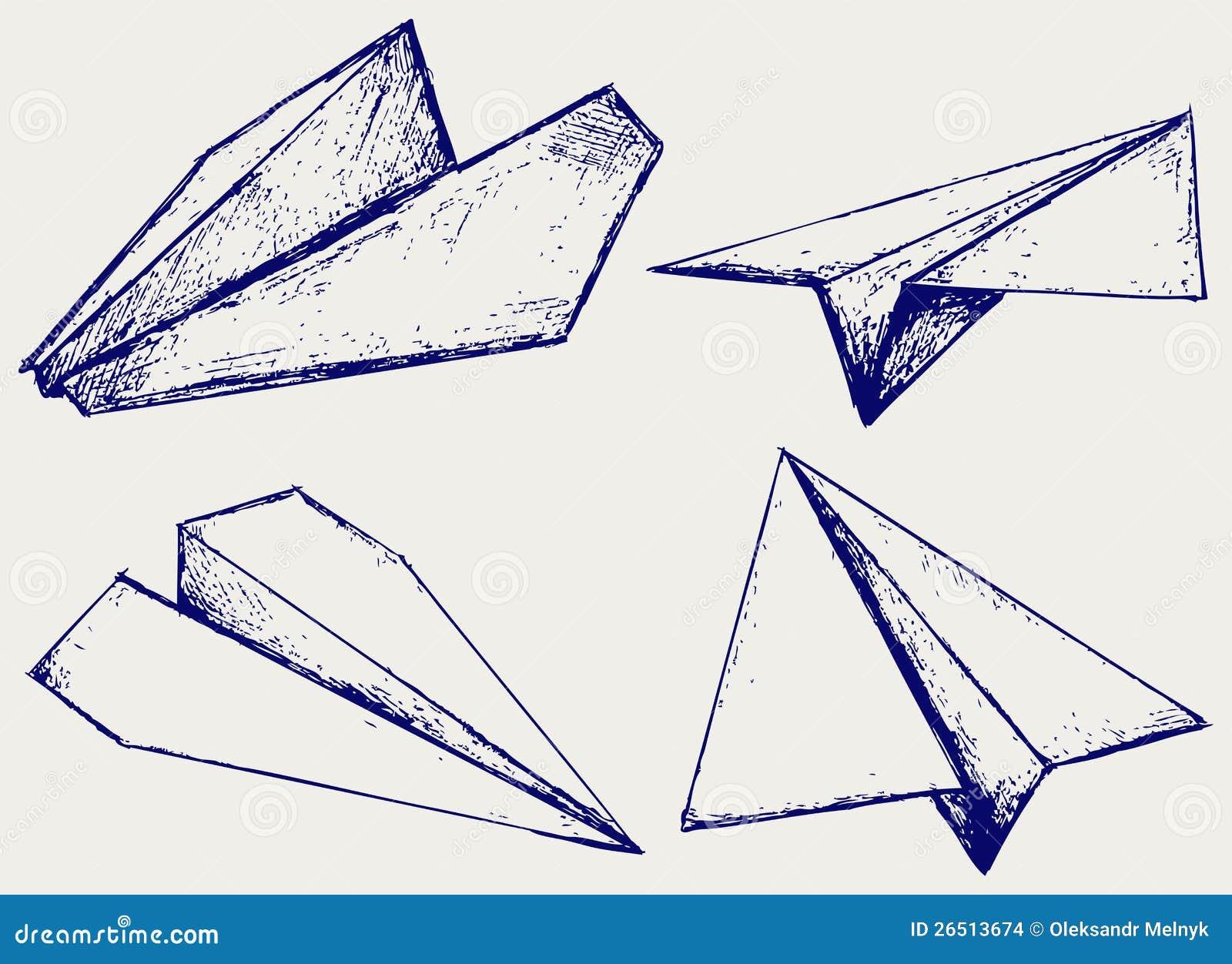 Papierflugzeuge