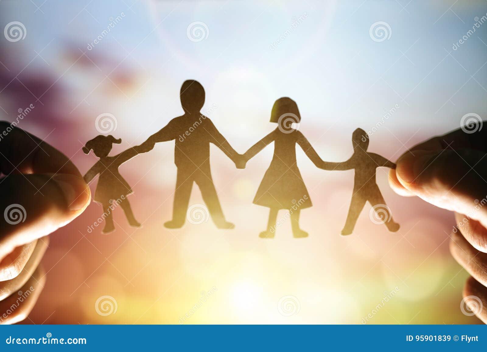 Papierkettenfamilie