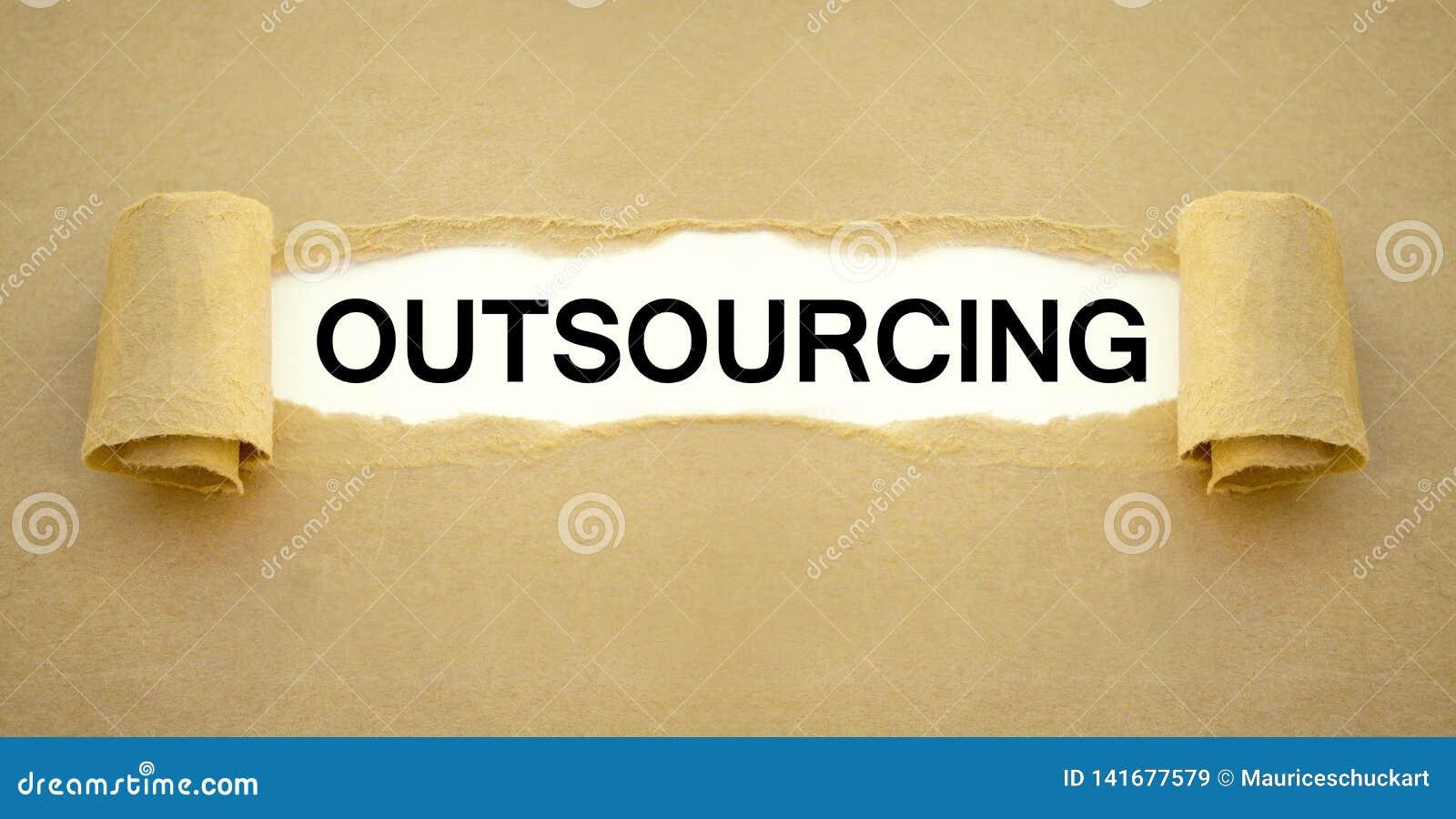 Papierkowa robota z outsourcingiem