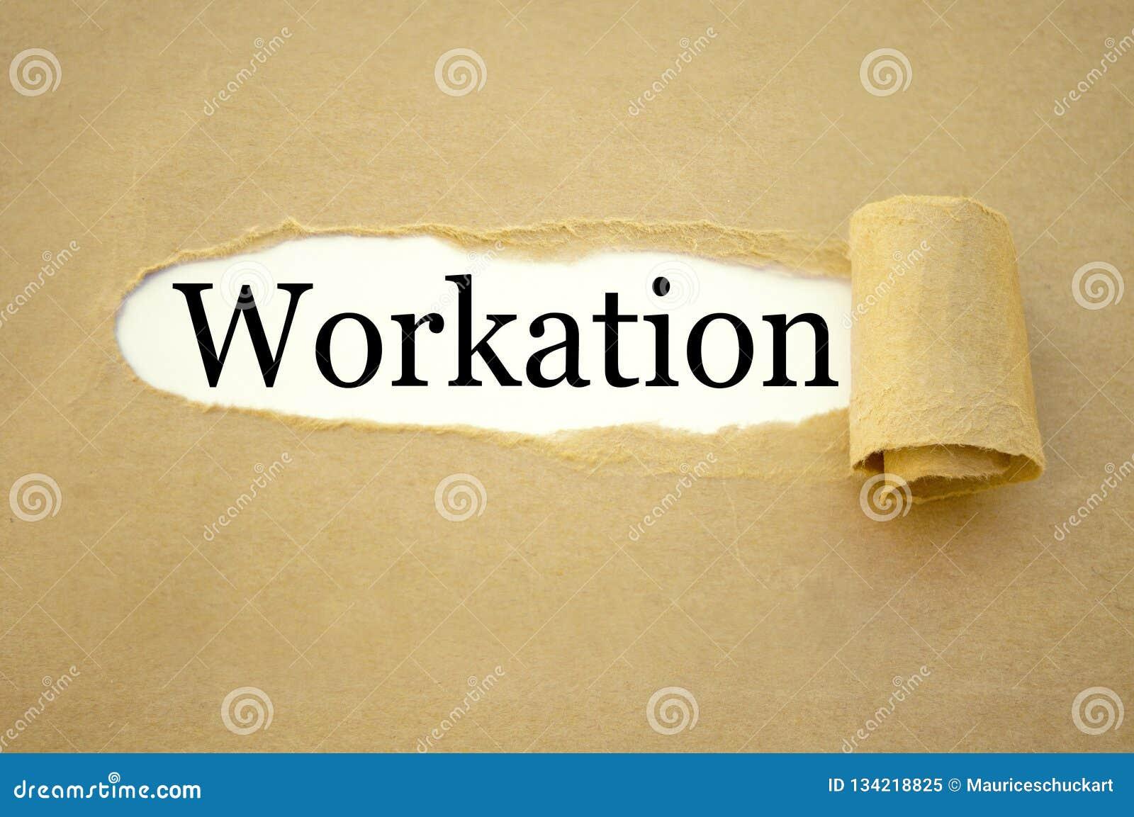 Papierkowa robota z workation