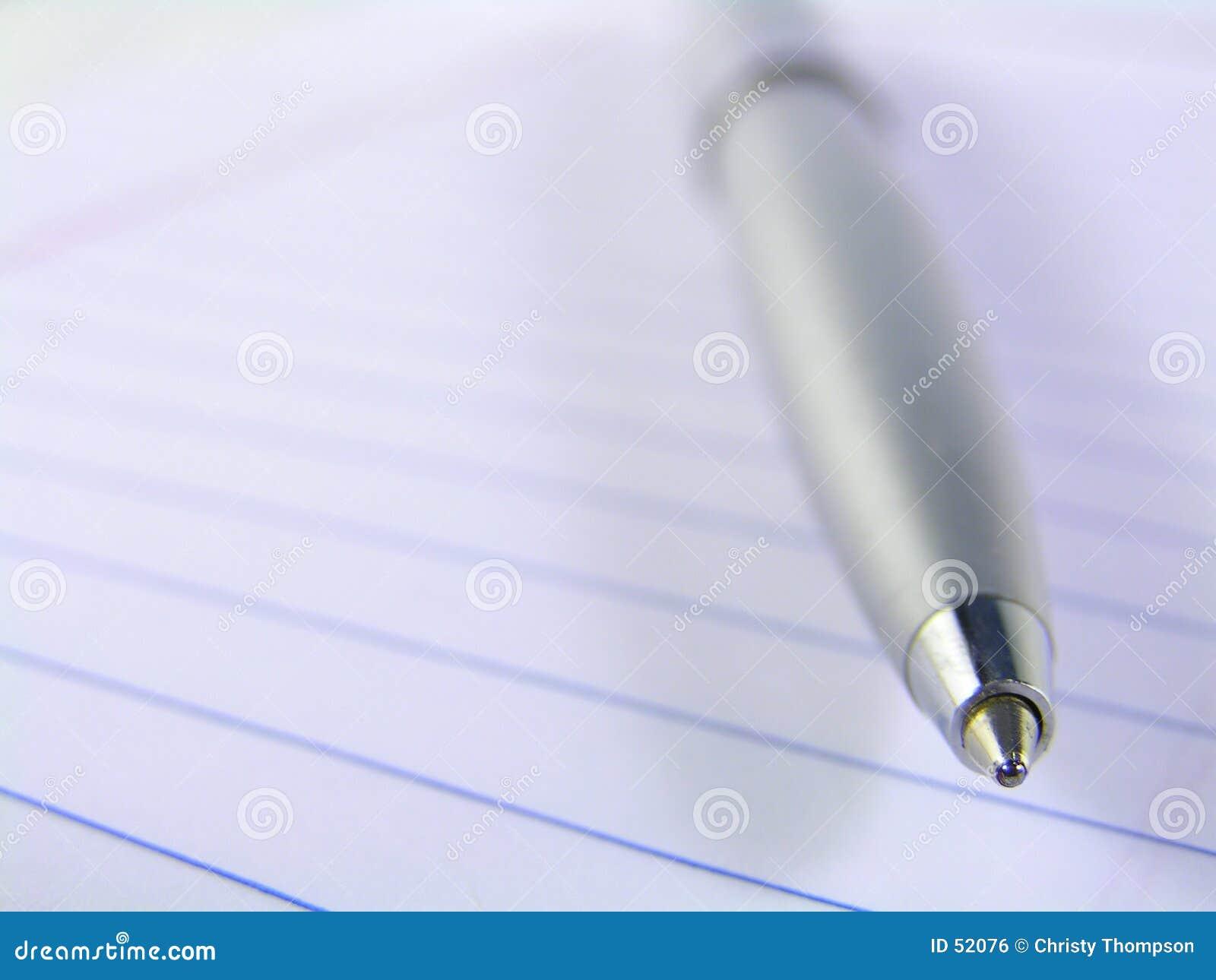 - papierowa pióro napiwek makro