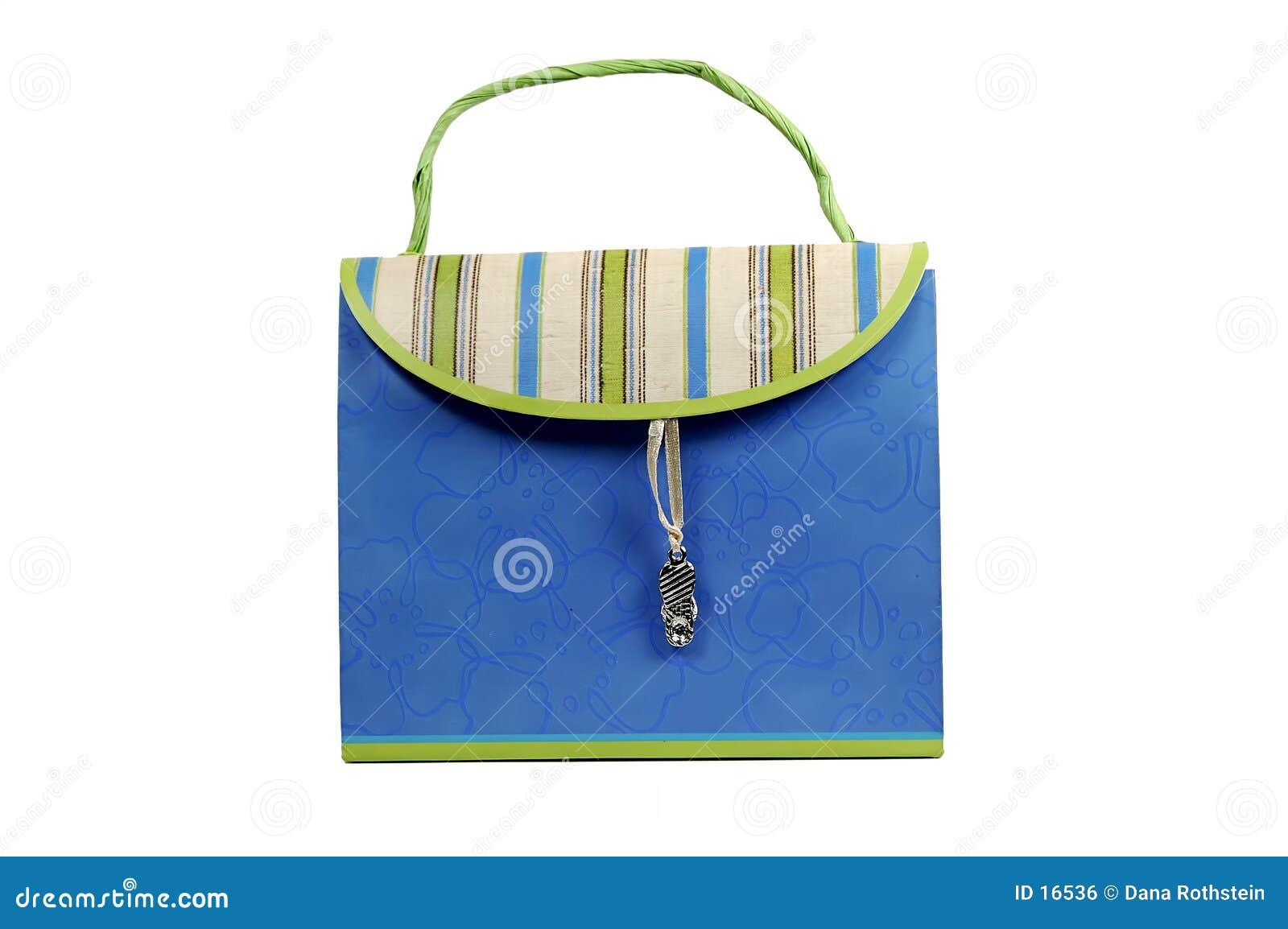 - papierowa torebka