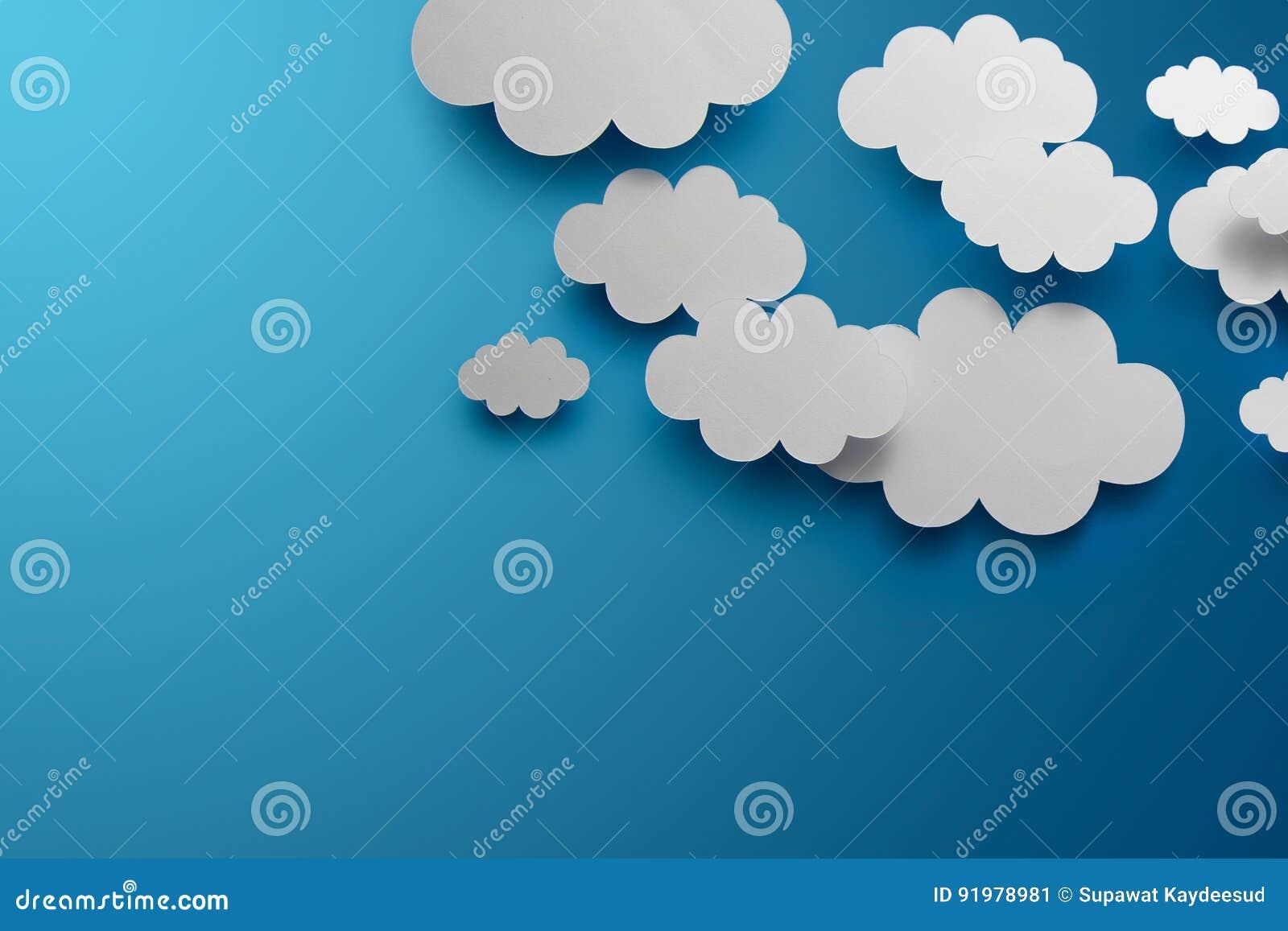 Papierowe chmury