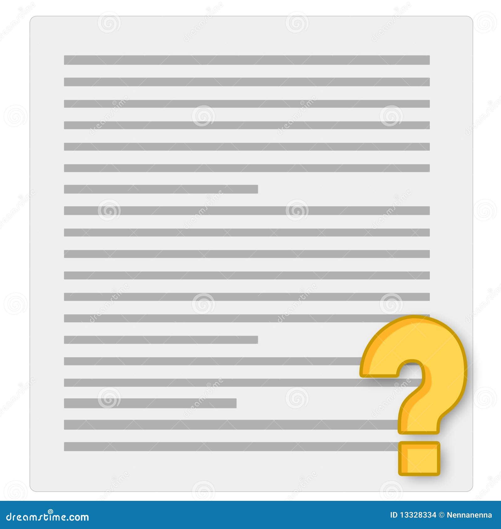 Papierowy notatnika kwestionariusz