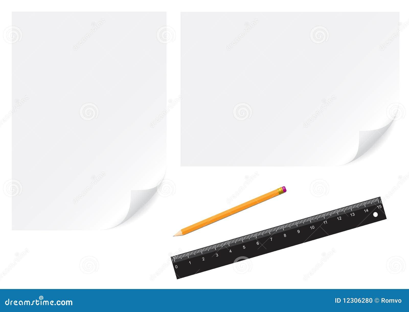 Papierowy ołówek